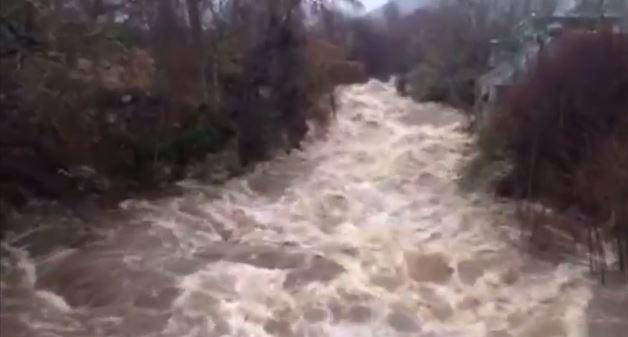The River Clunie at Braemar