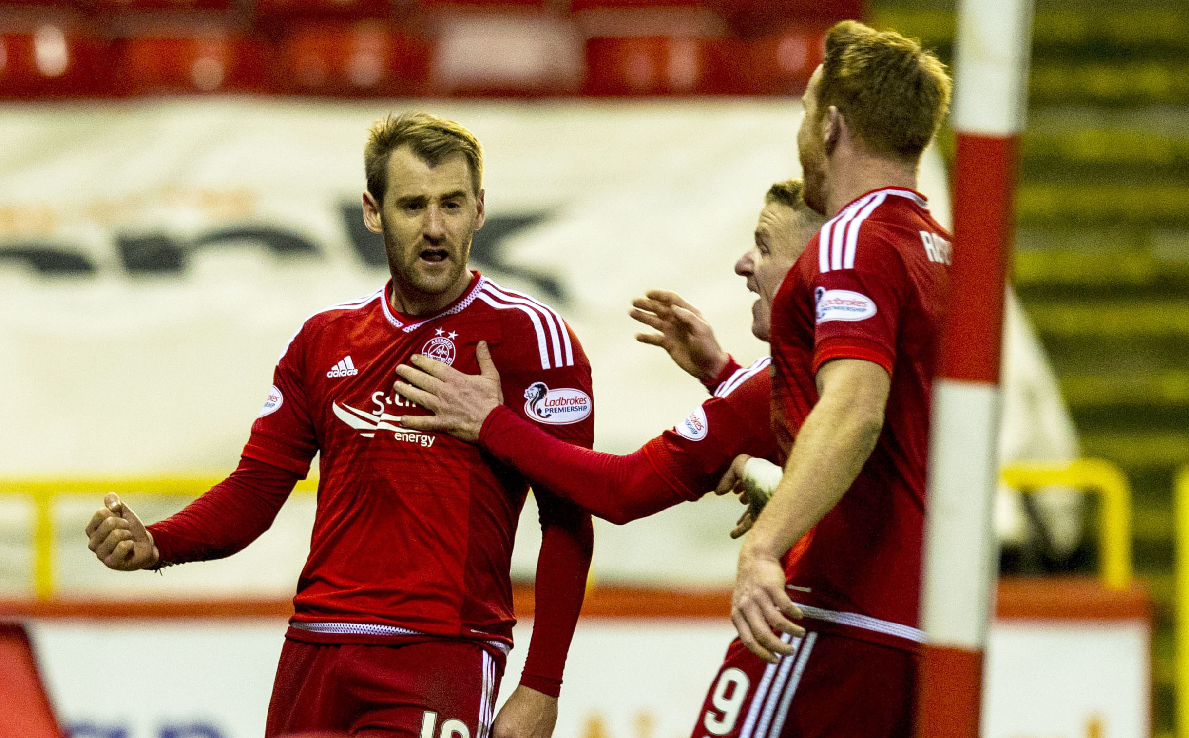 The Dons showed fighting spirit against Ross County.