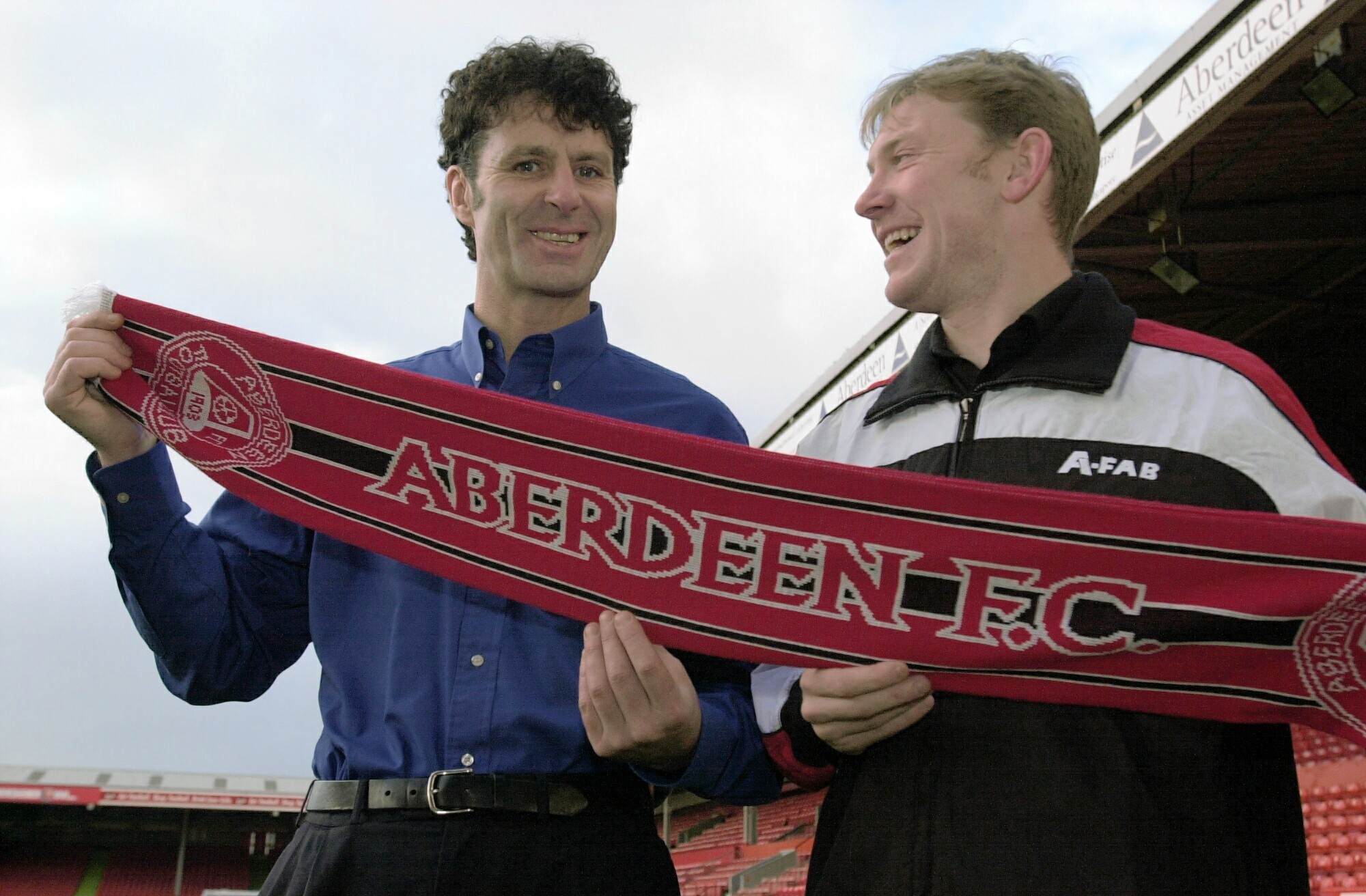 Then Dons manager Steve Paterson took Steve Tosh to Pittodrie.