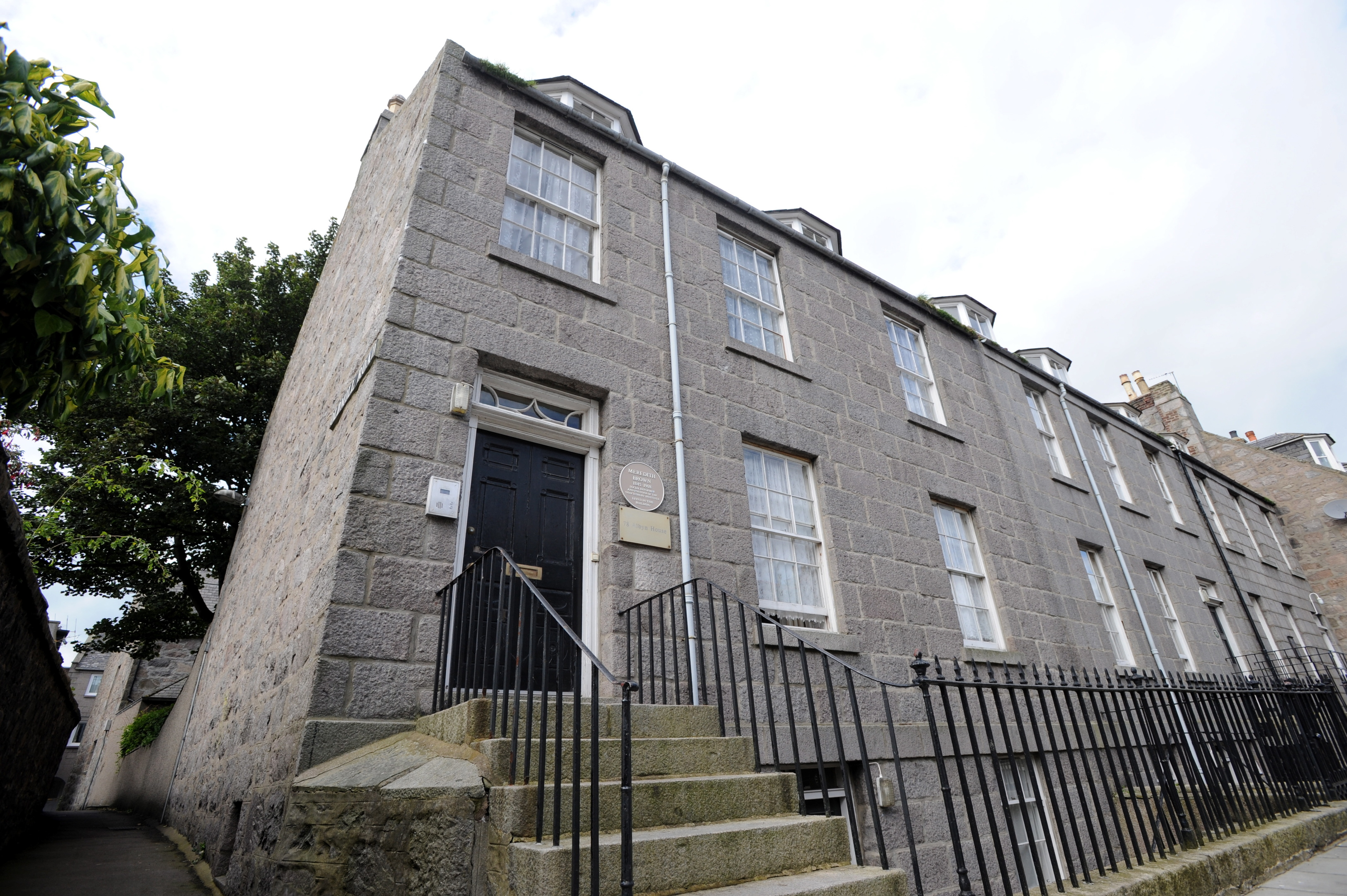 Albyn House on Aberdeen's Dee Street faces closure.