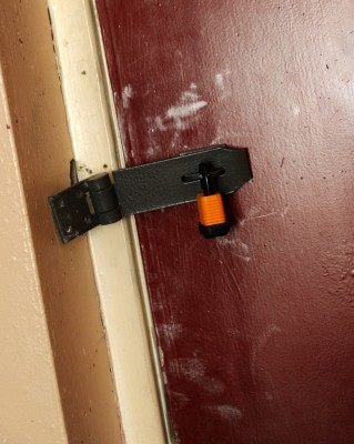 The lock on the Kings' storage cellar was tampered with.