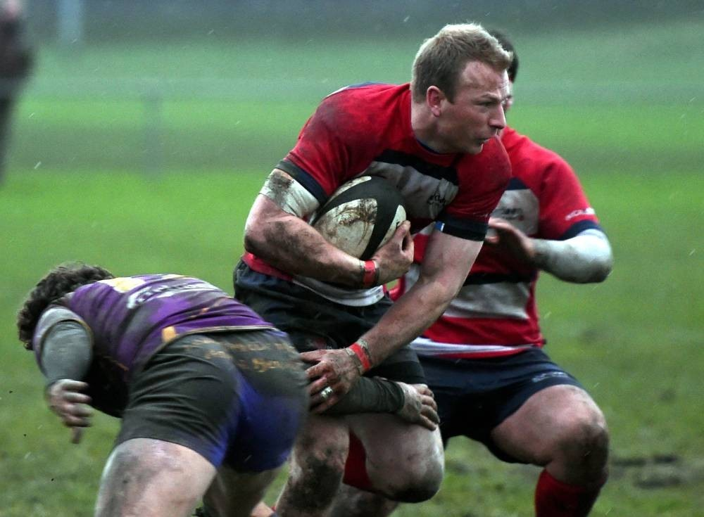 Grant Walker is tackled