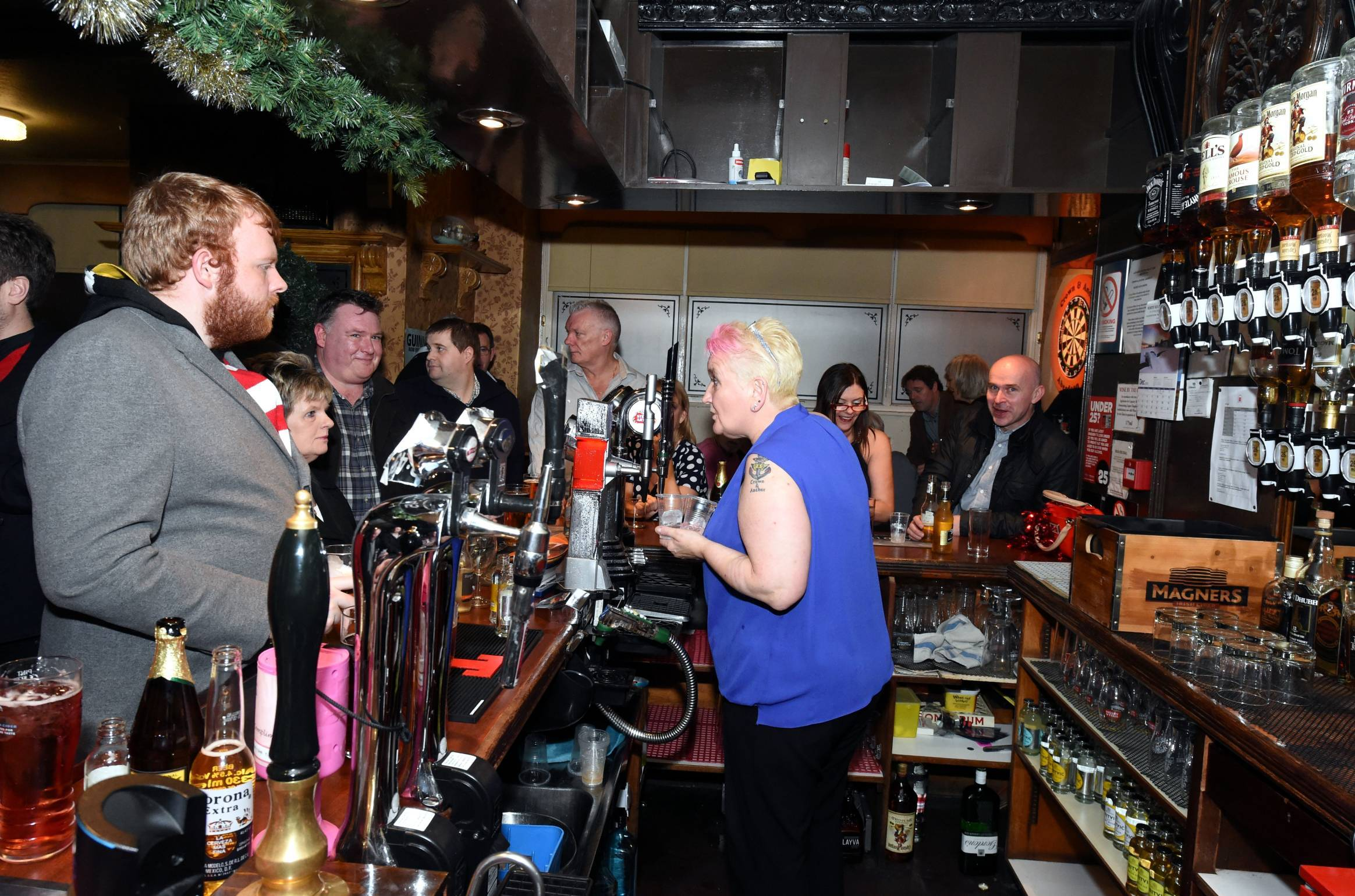 The Crown and Anchor in Aberdeen is to open for one last time on Hogmanay