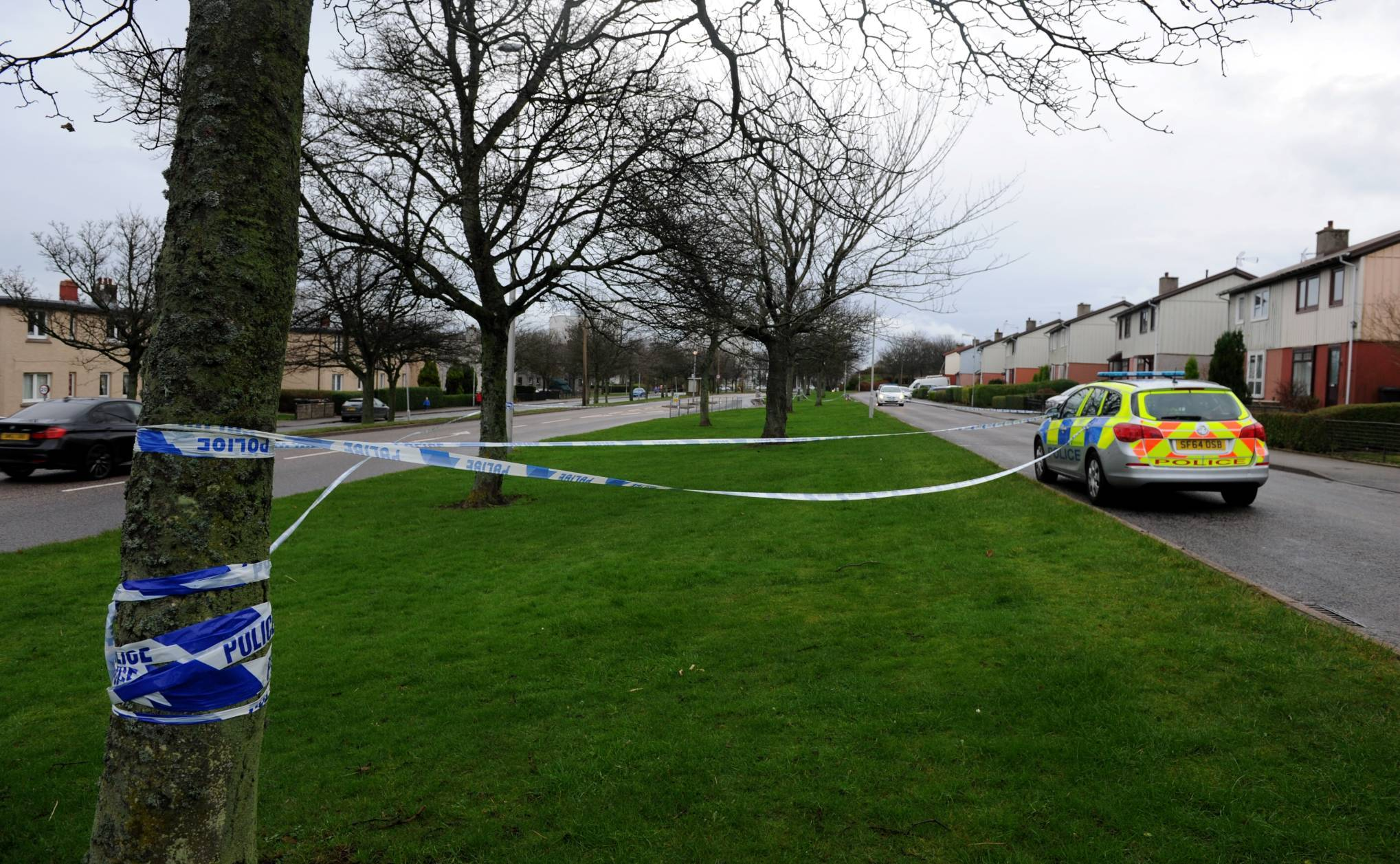 Provost Rust Drive was sealed off early today