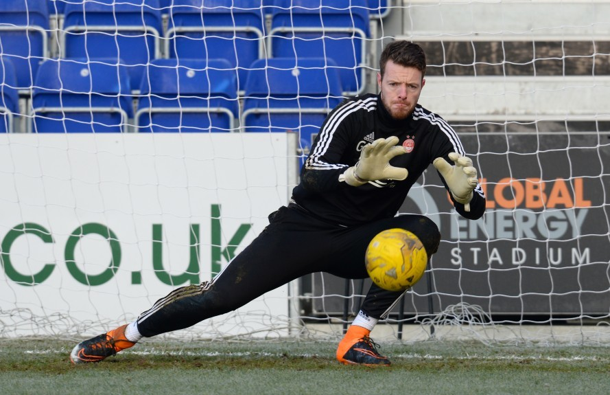 Former Aberdeen goalkeeper Adam Collin.