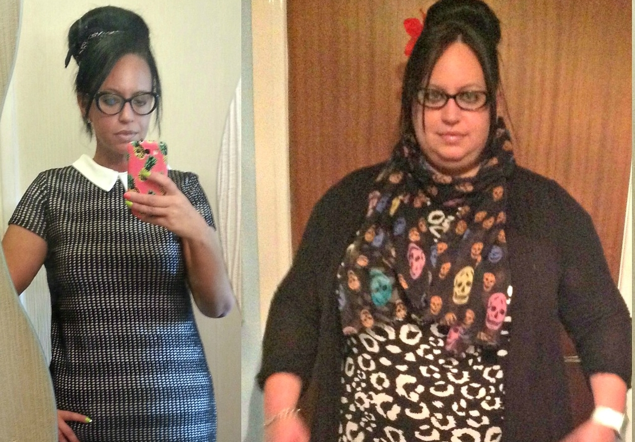 Laura's  weight loss has seen her go from 23st to around 12st