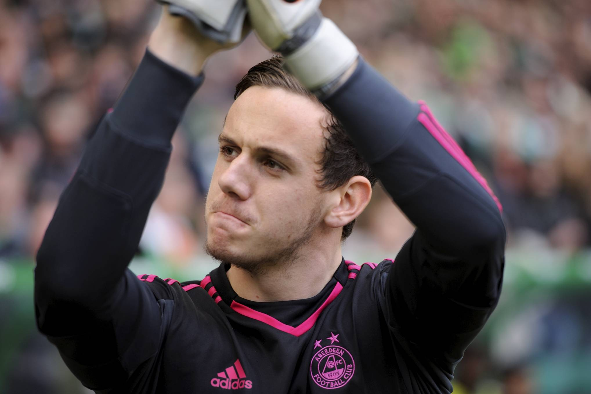 Former Dons keeper Danny Ward. Picture: Darrell Benns