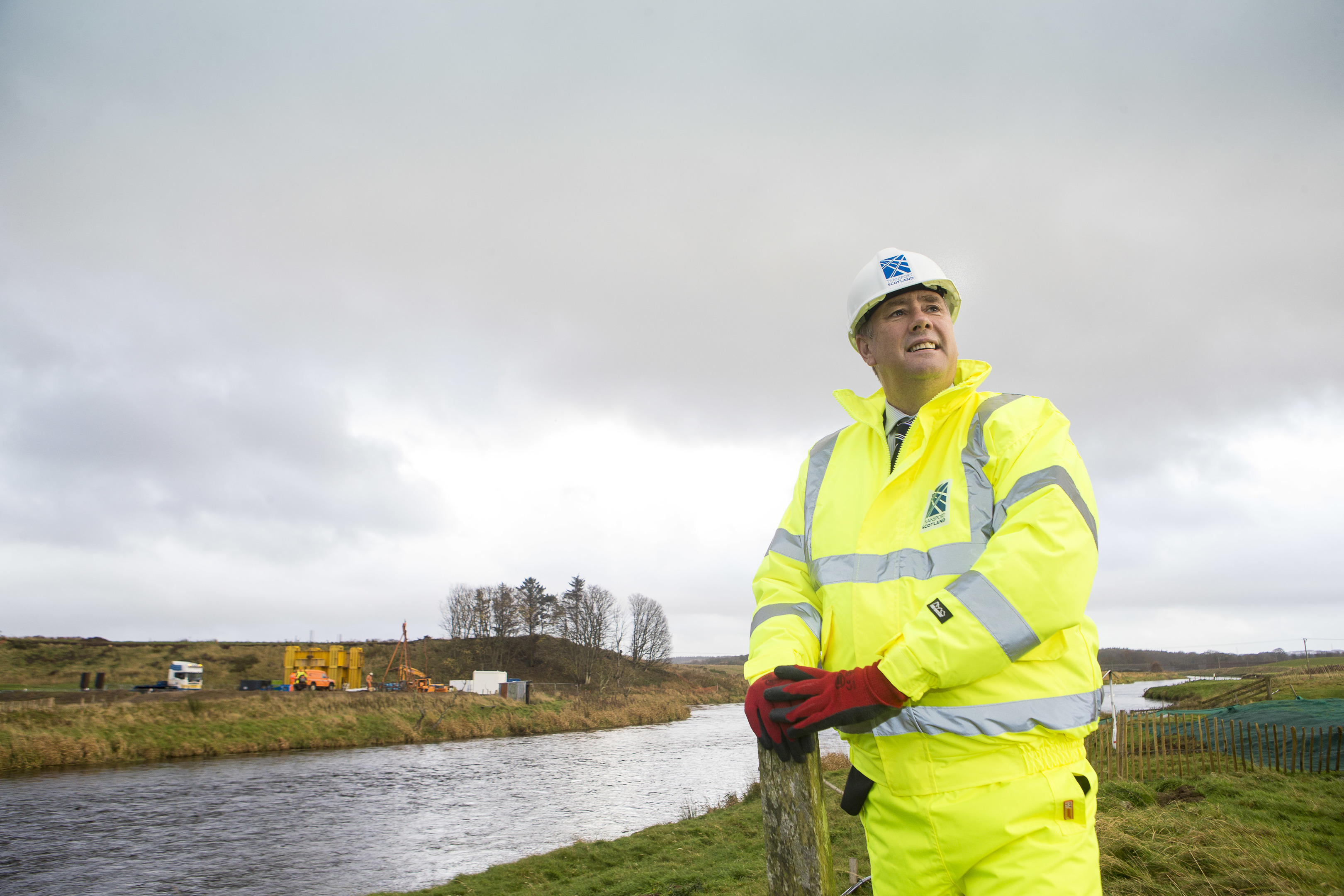 taking shape:  More than 1,300 people are now involved in the work  under way on the Aberdeen Western Peripheral Route (AWPR).