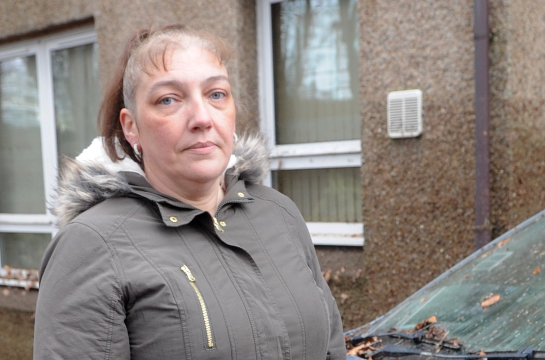 Lisa Pettifer was visiting a client at the sheltered housing complex when the building flooded. picture by chris sumner