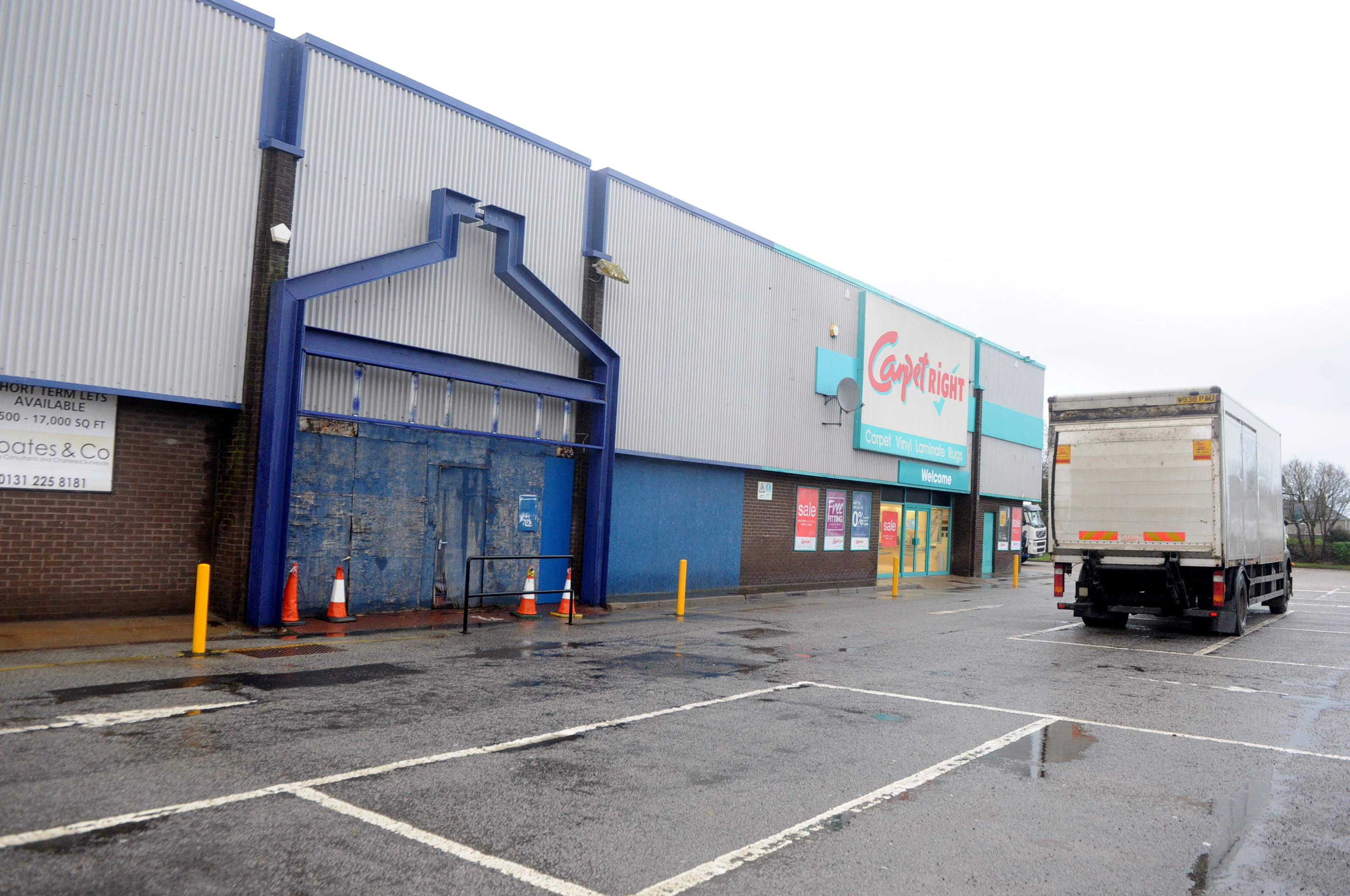 proposals: The vacant site Pets At Home have plans for a store at Murcar Industrial Estate, Bridge of Don. picture by chris sumner
