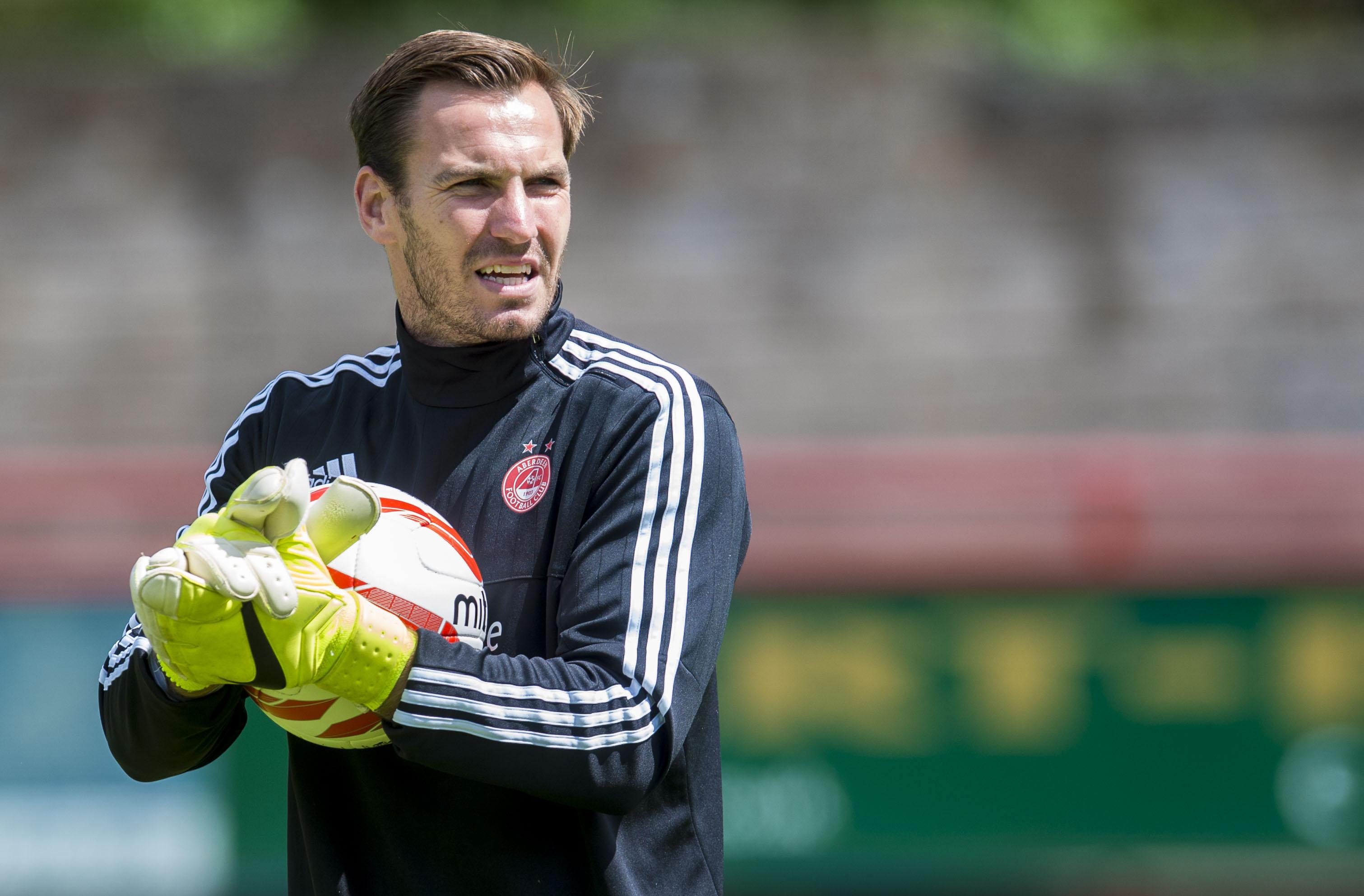 Aberdeen keeper Scott Brown