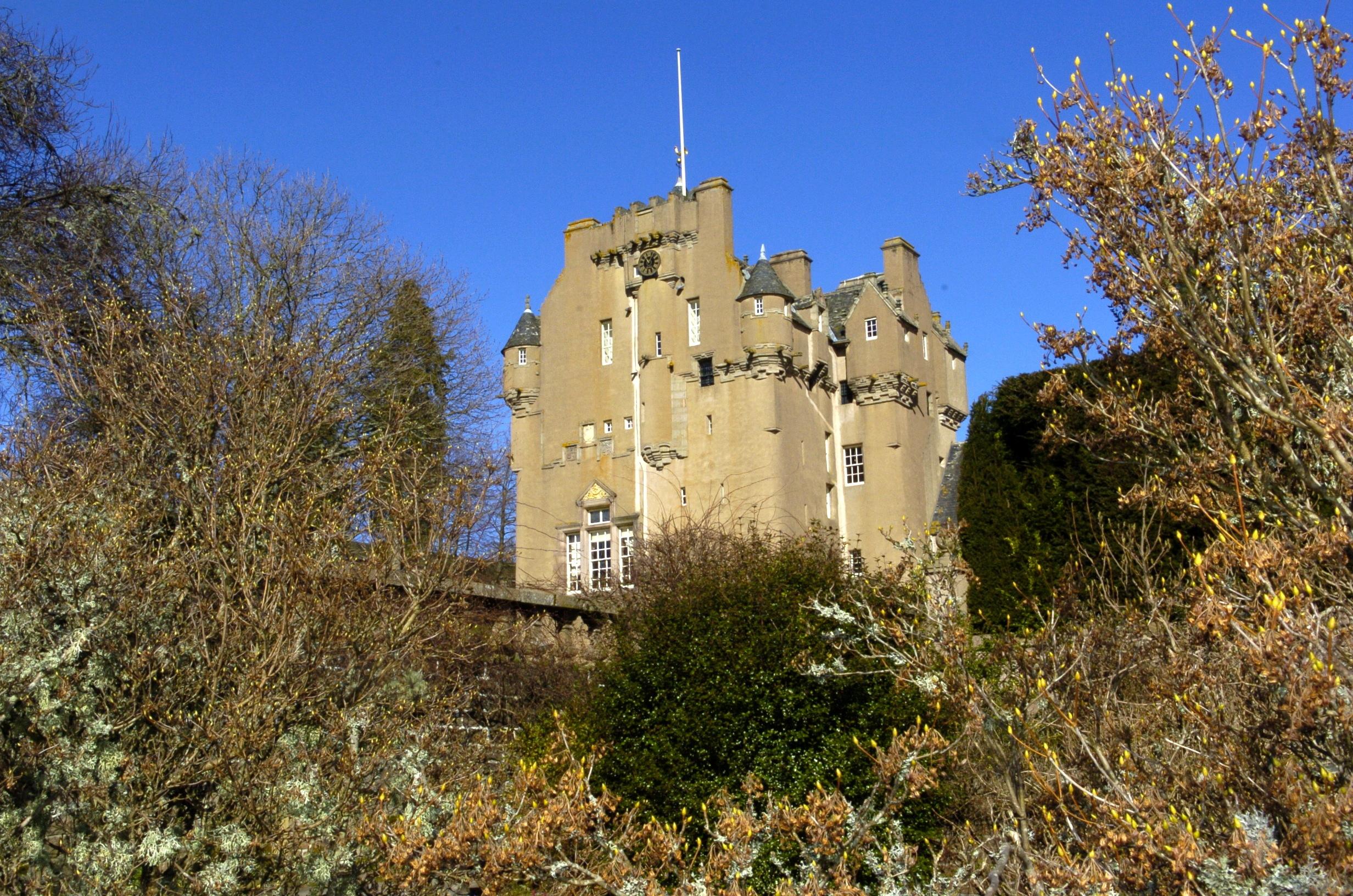 The creature was seen near Crathes Castle.