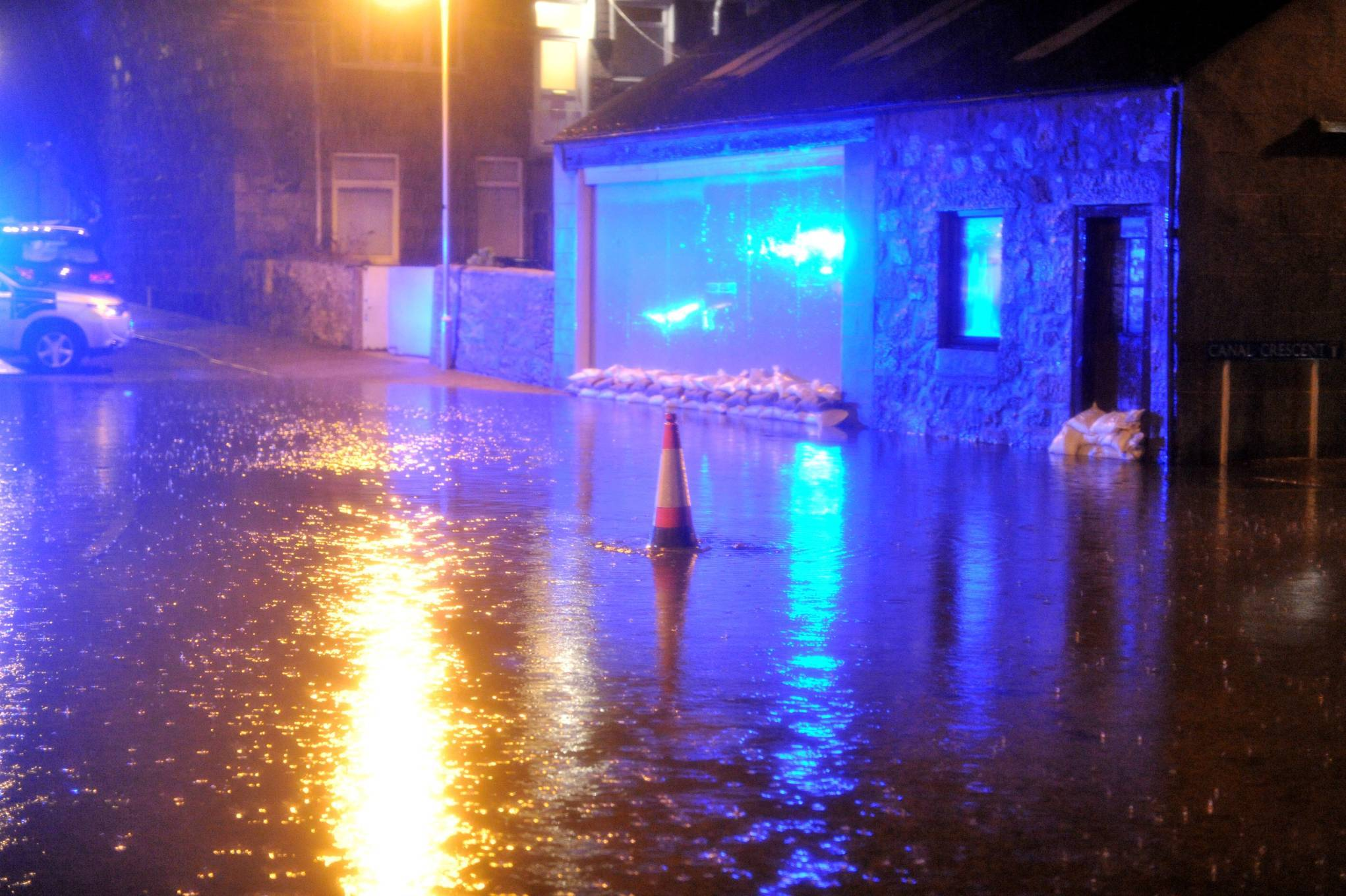 There remains a risk of ongoing disruption from flooding