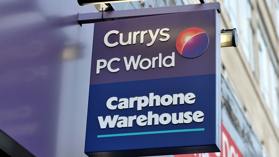 The group had placed the order with Currys.