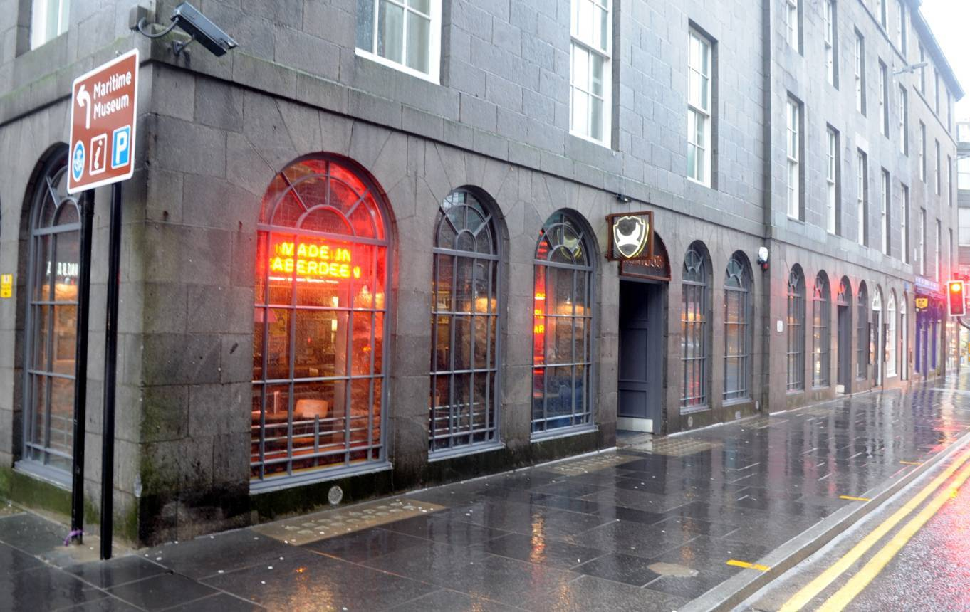 Brewdog on Aberdeen's Union Street