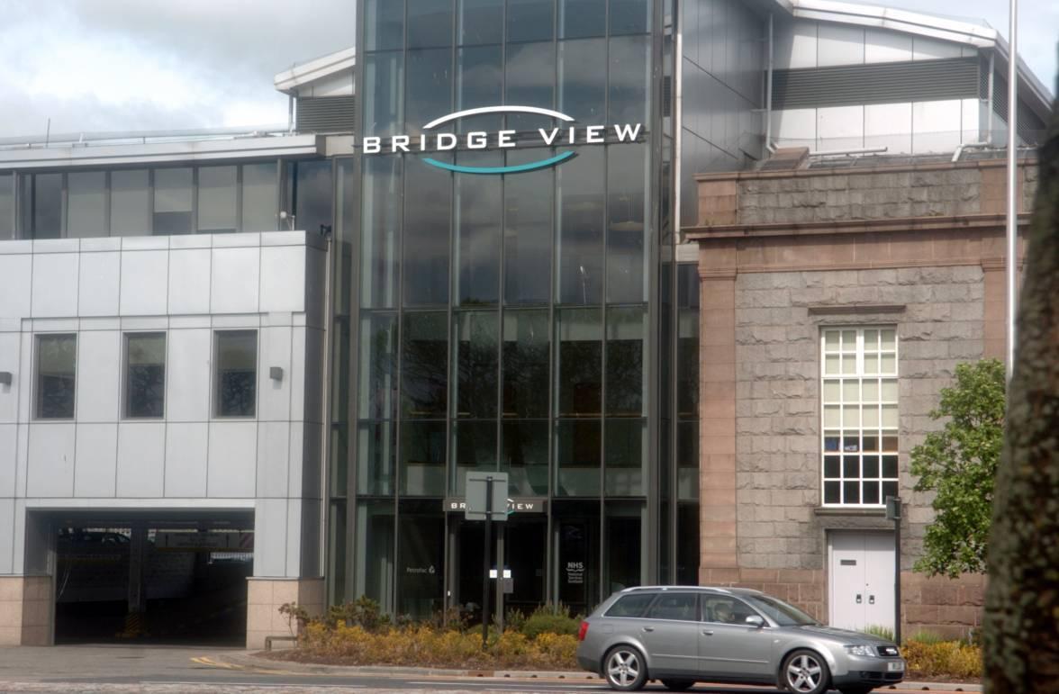 Petrofac's Aberdeen offices