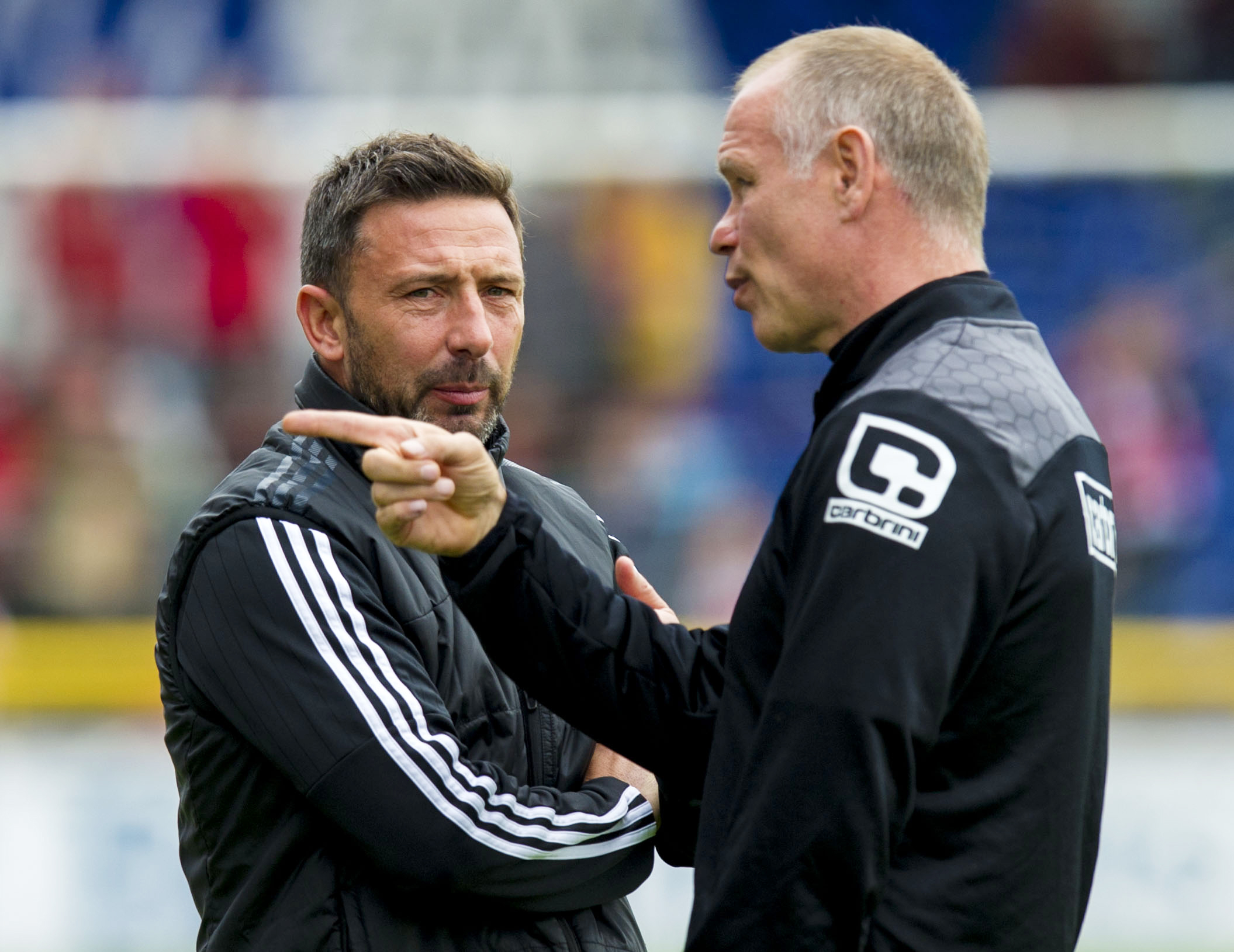 Aberdeen's Derek McInnes insisted there's no problem with Inverness' John Hughes after the collapse of the Tansey deal.