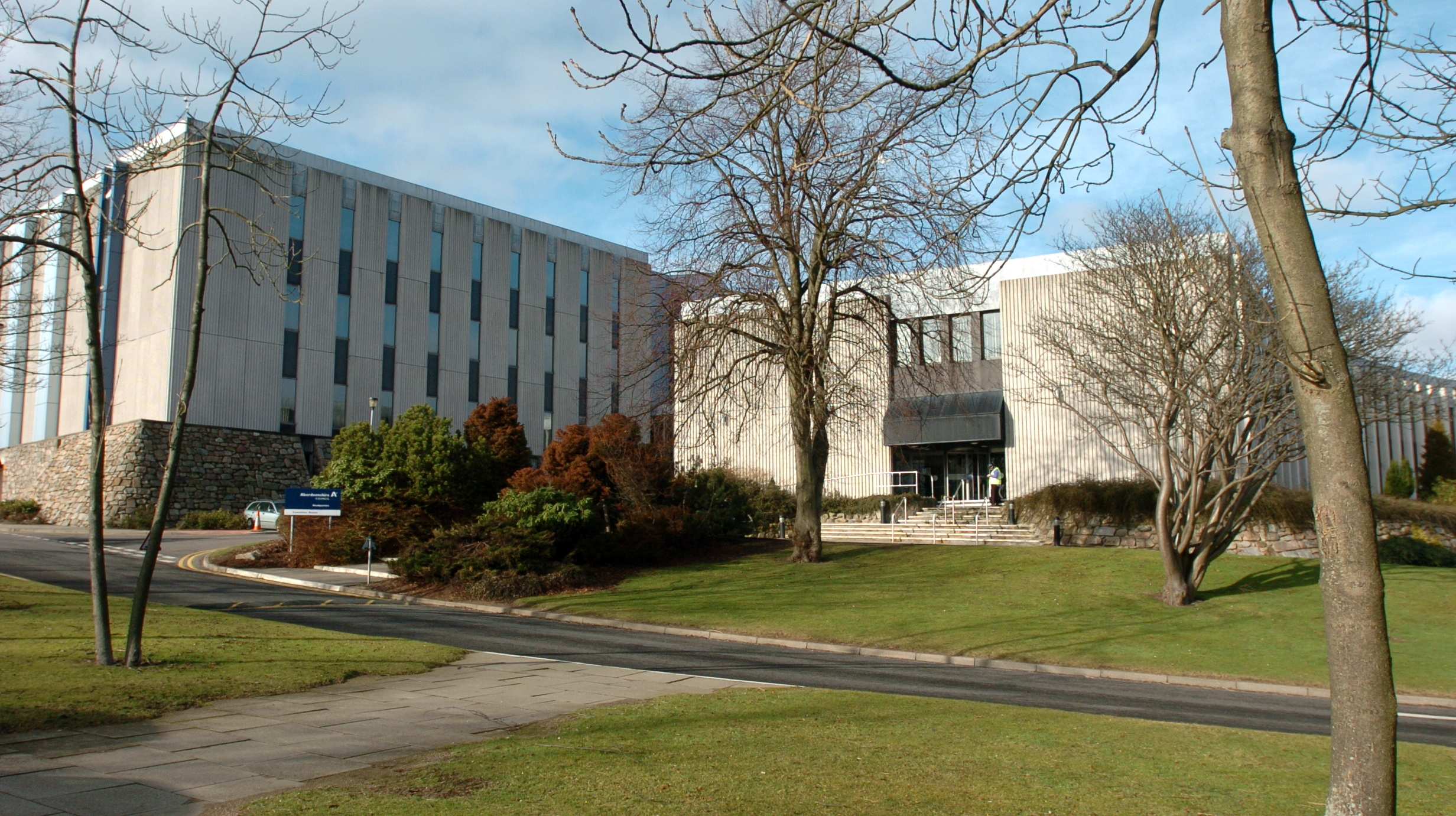 Aberdeenshire Council's councillors will meet at Woodhill House today to discuss the budget.