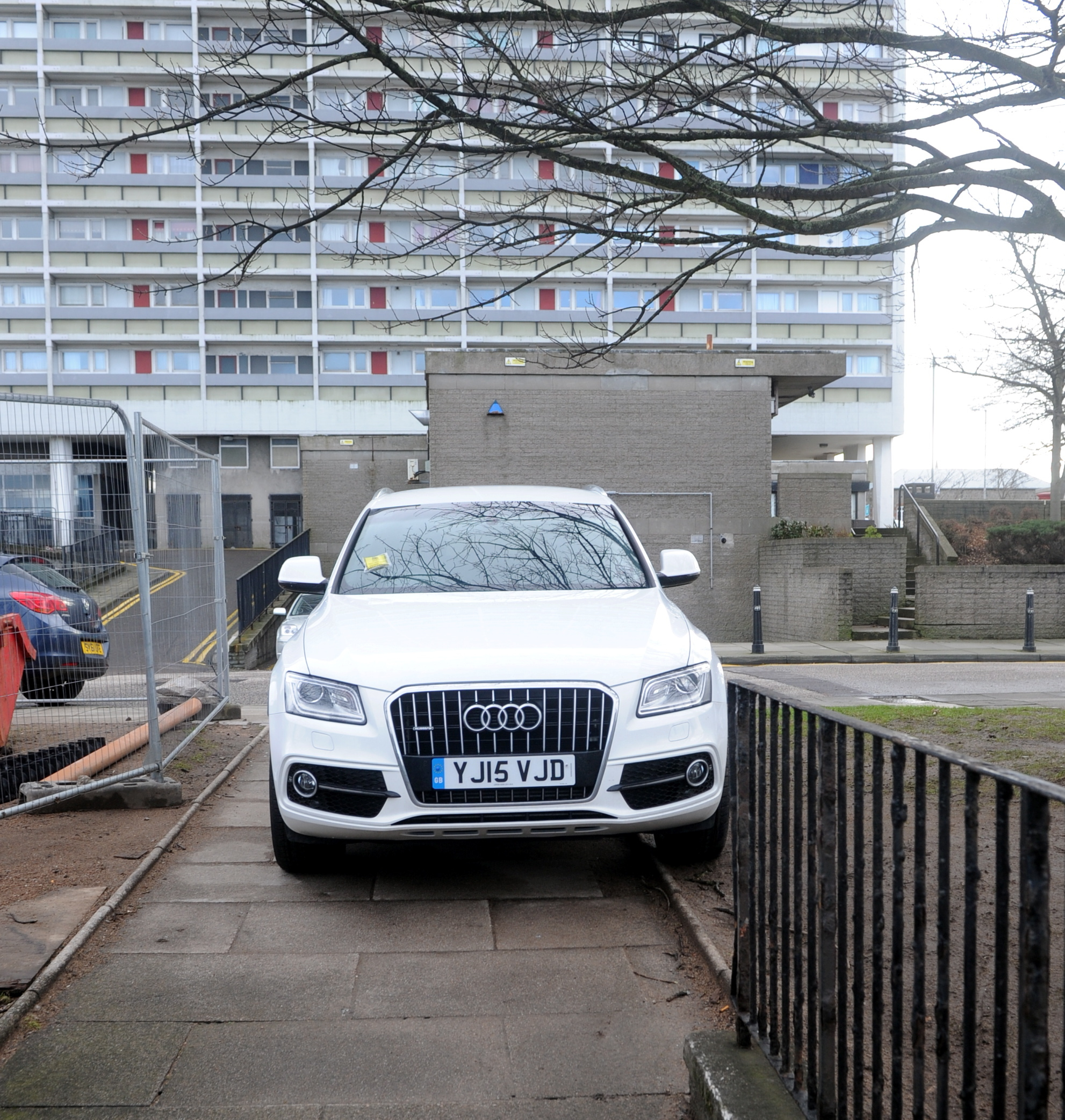 Legislation has been brought forward to stop people parking on pavements.