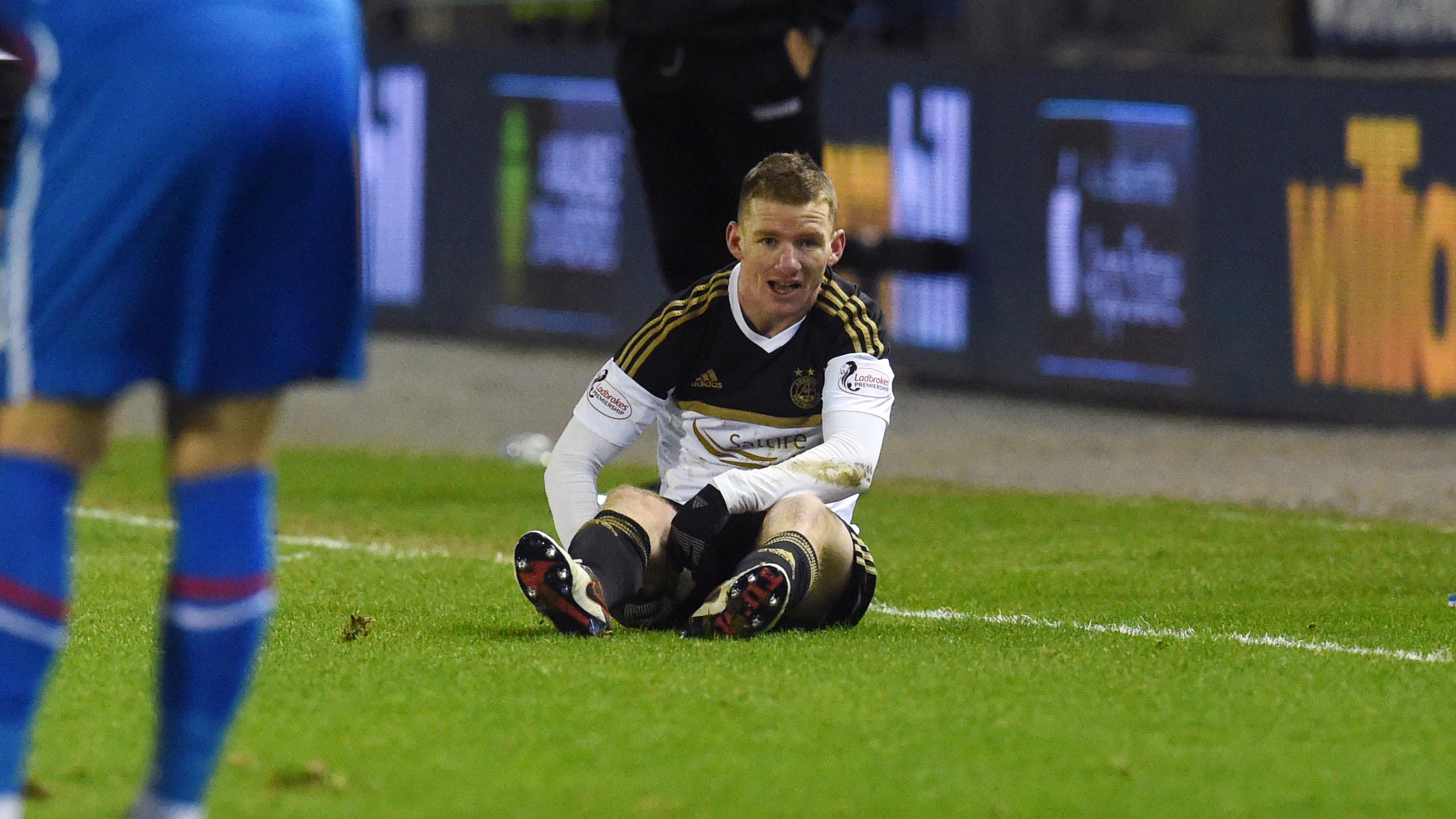 Jonny Hayes suffered a hamstring injury