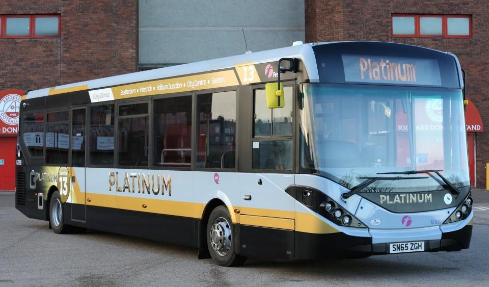 One of First Aberdeen's new Platinum vehicles.