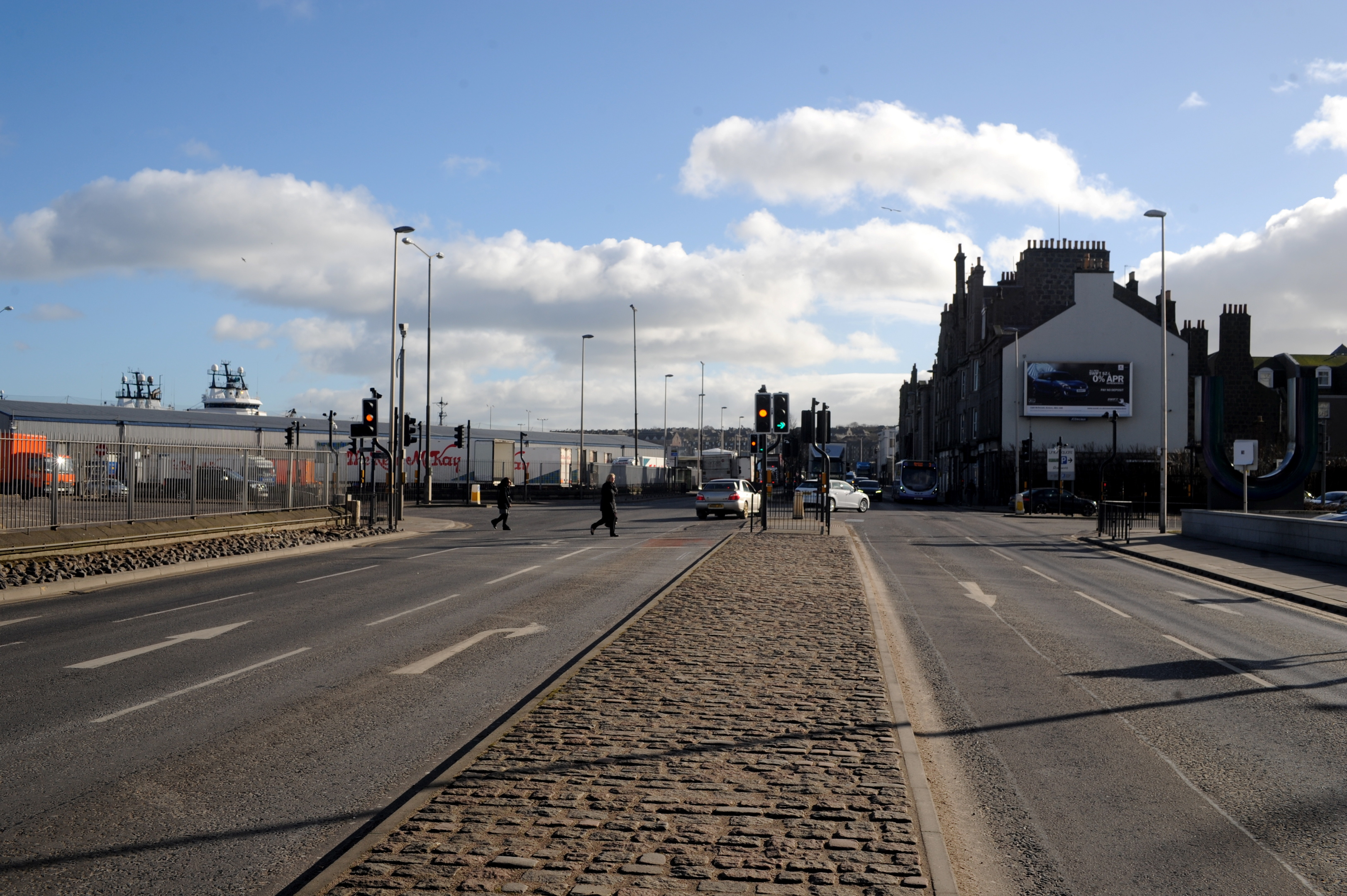 An extra lane could be added to the Torry-bound side of Market Street, allowing two right-turn lanes. That would lead to the city-bound side being widened, taking out part of the Union Square car park.