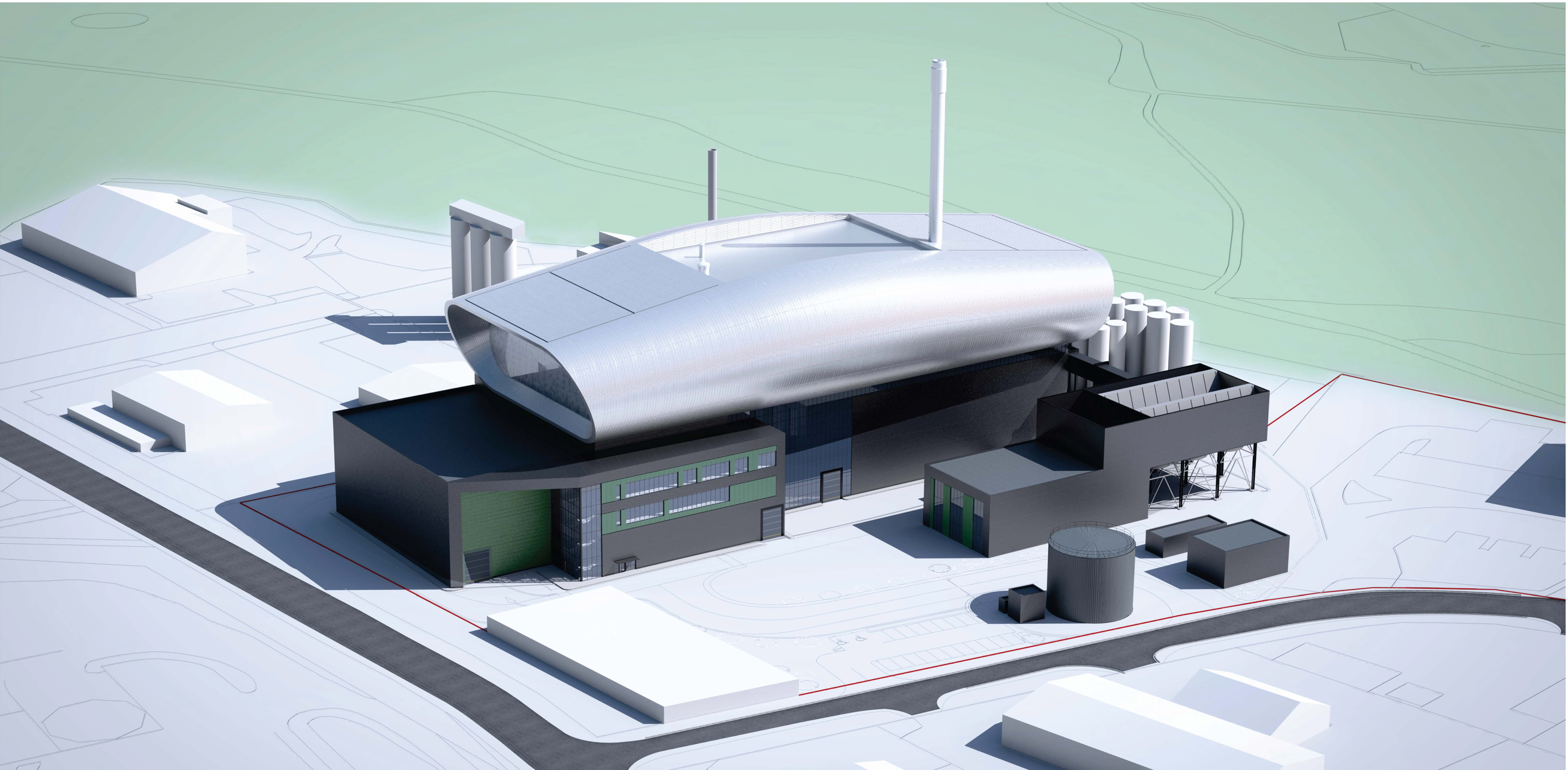 Artist's impression of the what the facility could look like when built.
