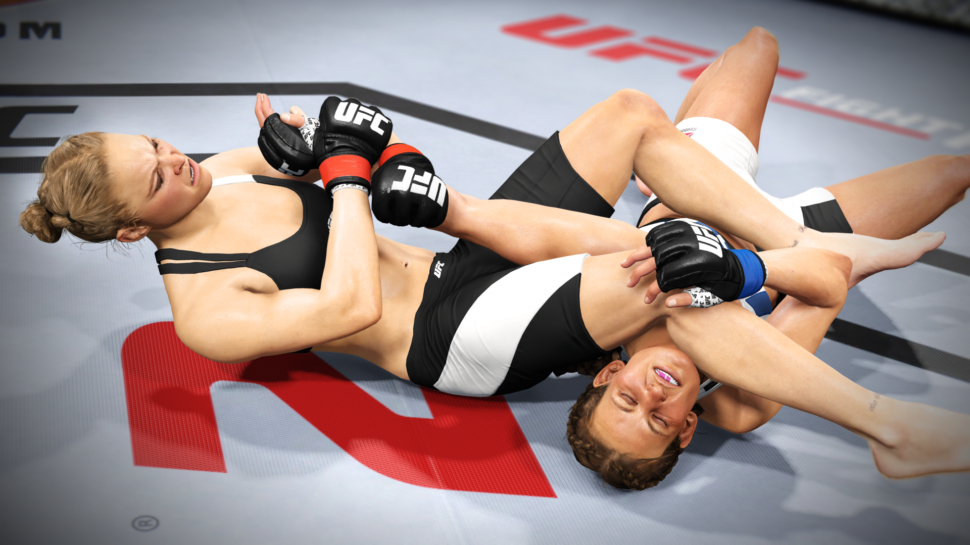 Ronda Rousey in EA Sports UFC 2