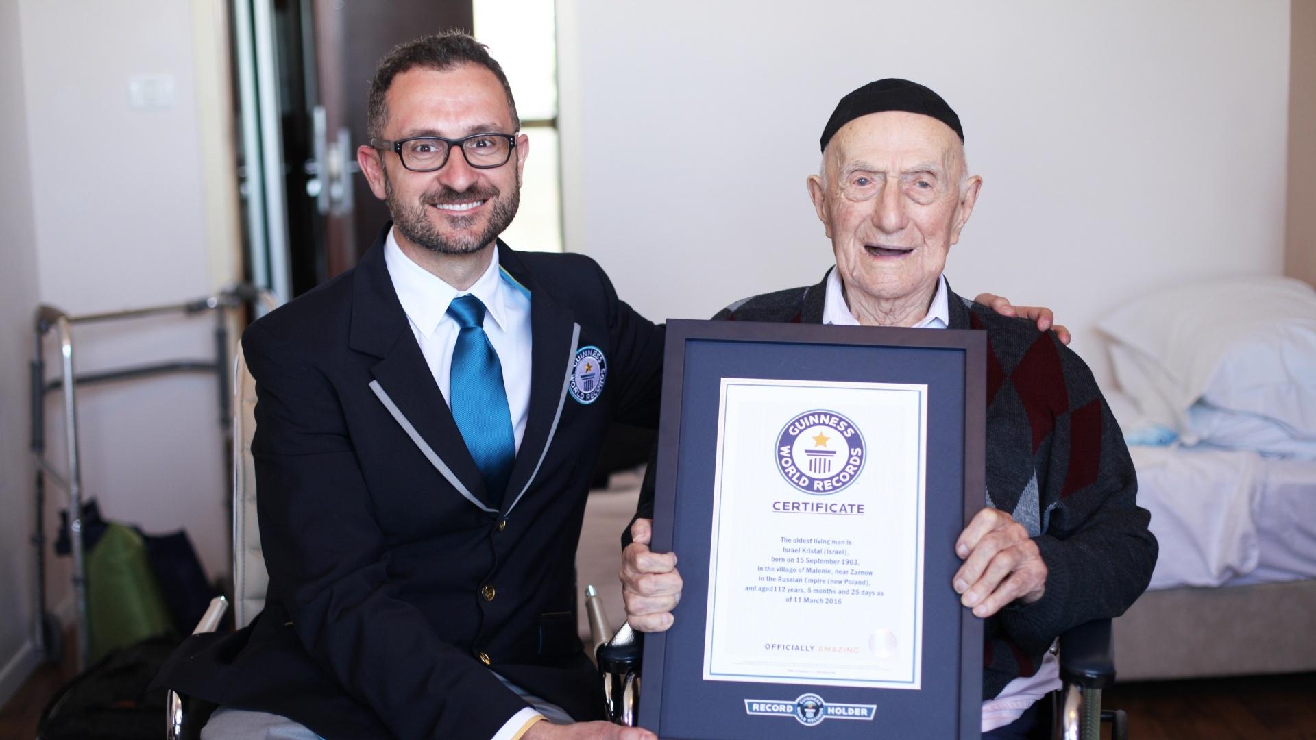 The world's oldest man