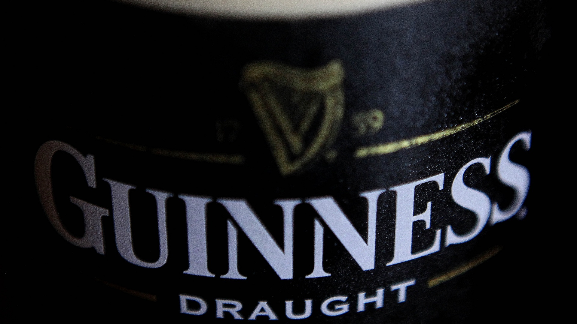 A stock picture of a pint of Guinness in Dublin, Ireland.