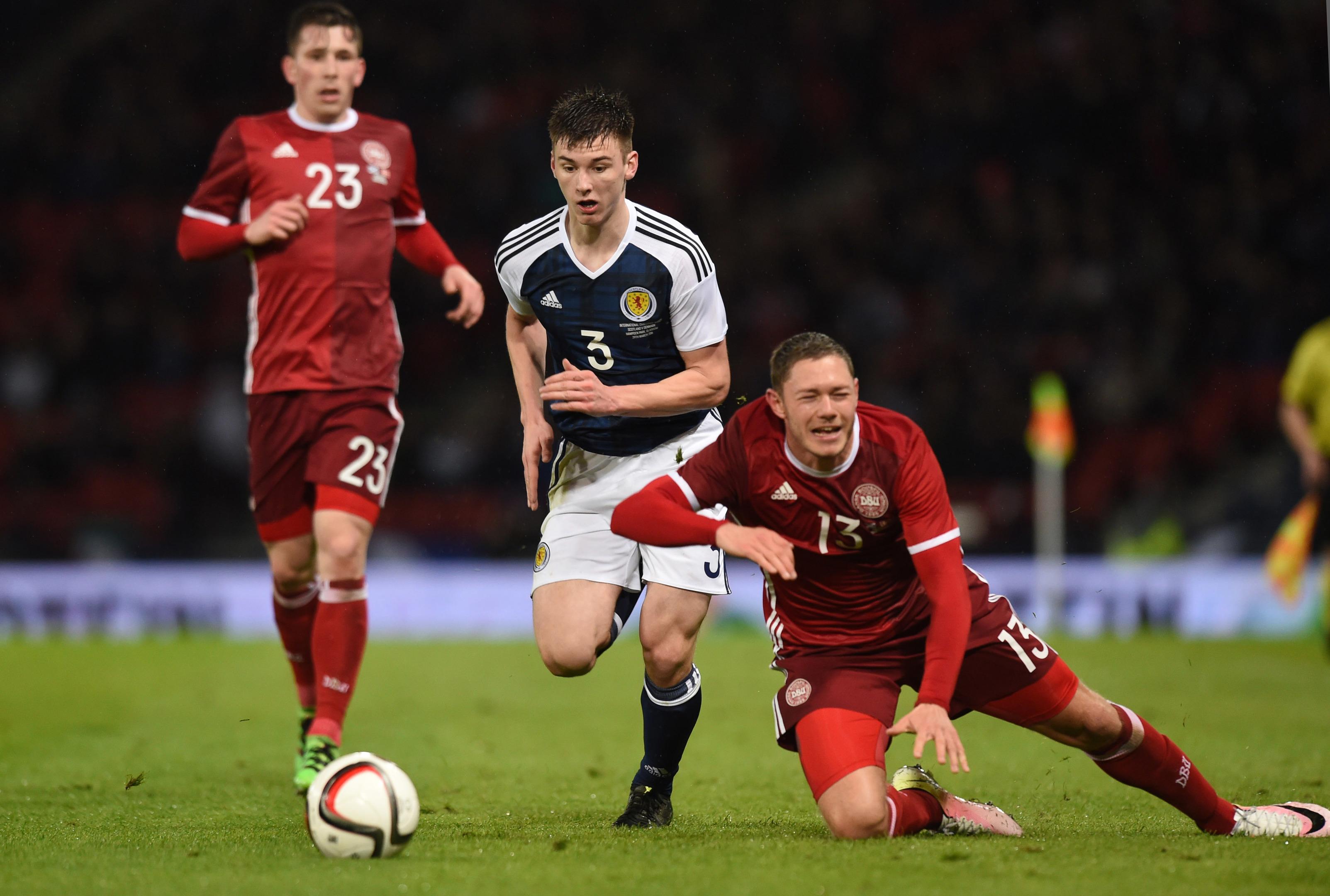 Scotland's Kieran Tierney.