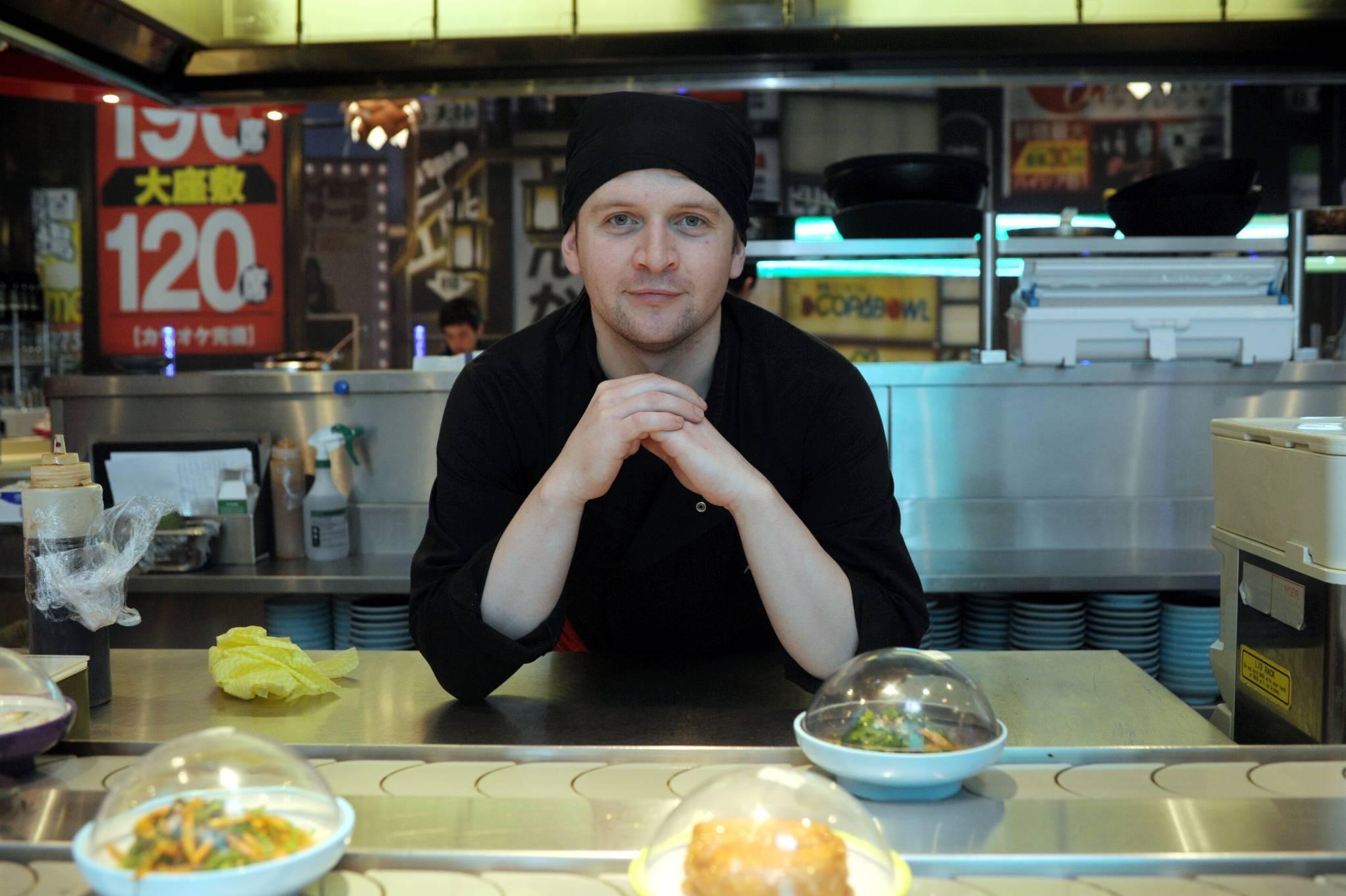 Ali Ross, chef at Yo! Sushi.