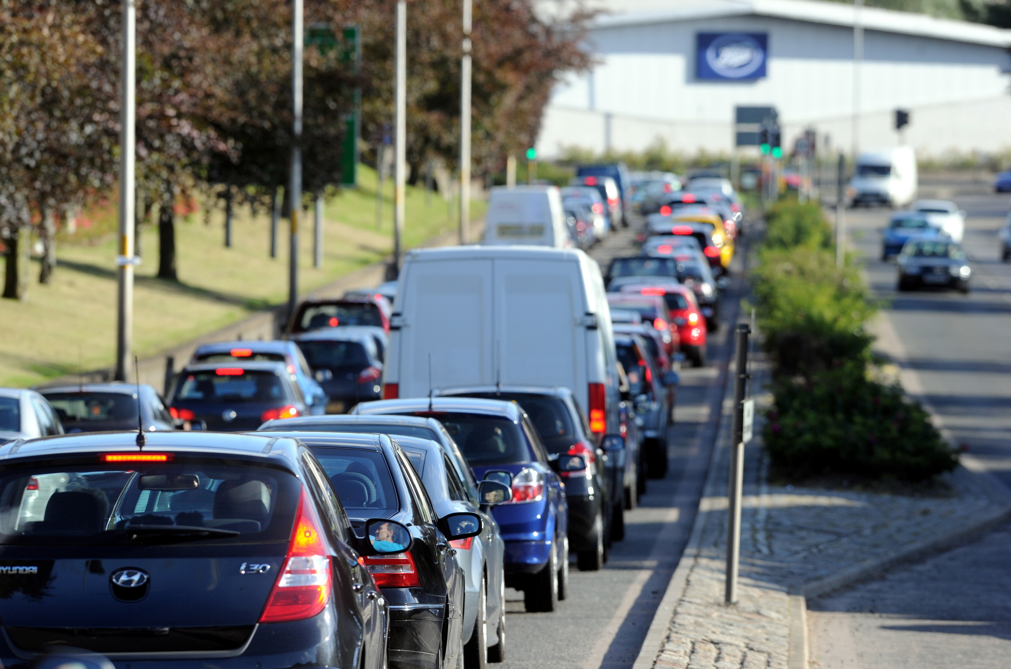Ways to cut congestion on  the A90 in the city  are being considered.