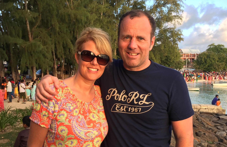 Gillian and Mike Wilson