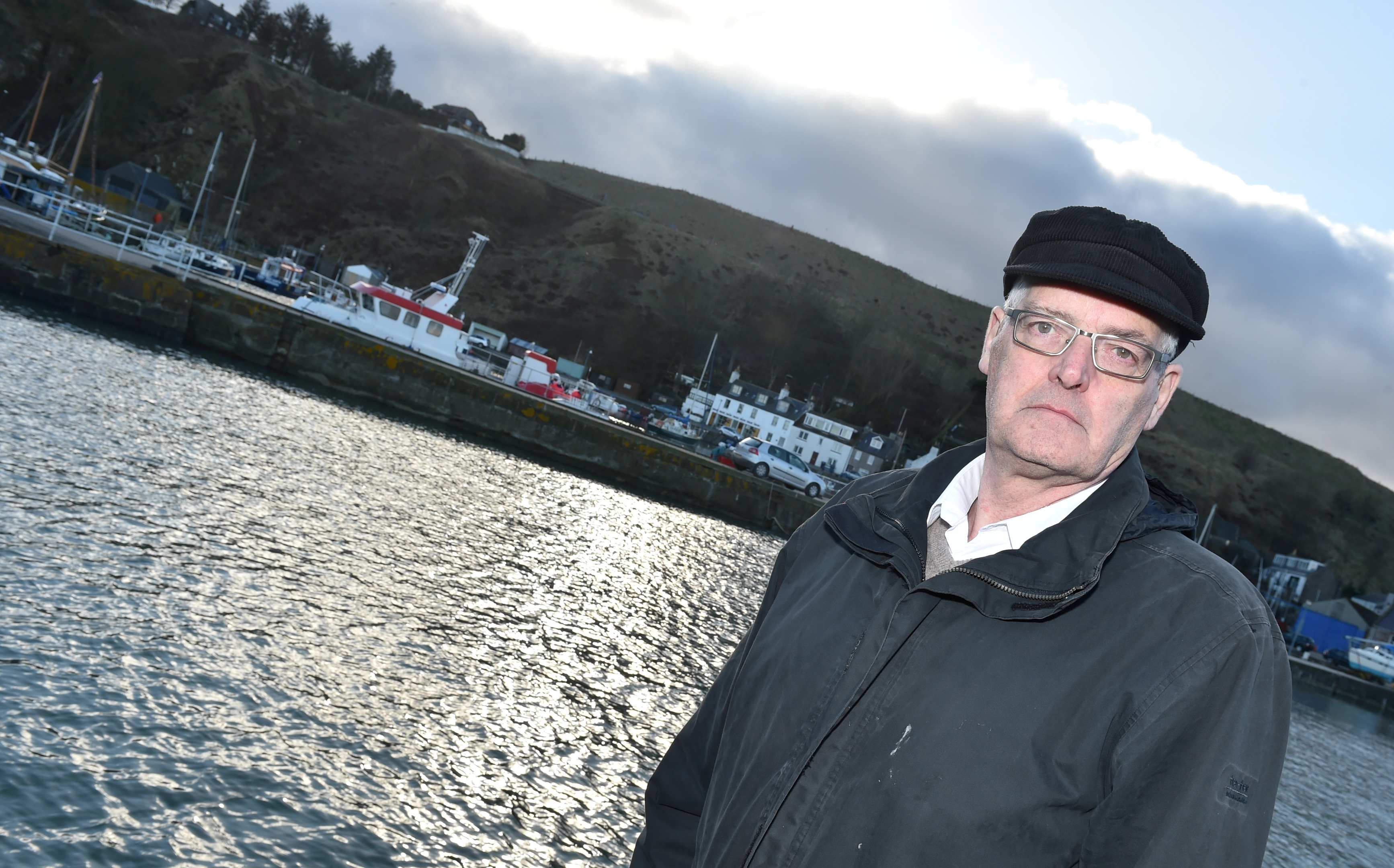David Fleming, chairman of the Stonehaven Town Partnership.