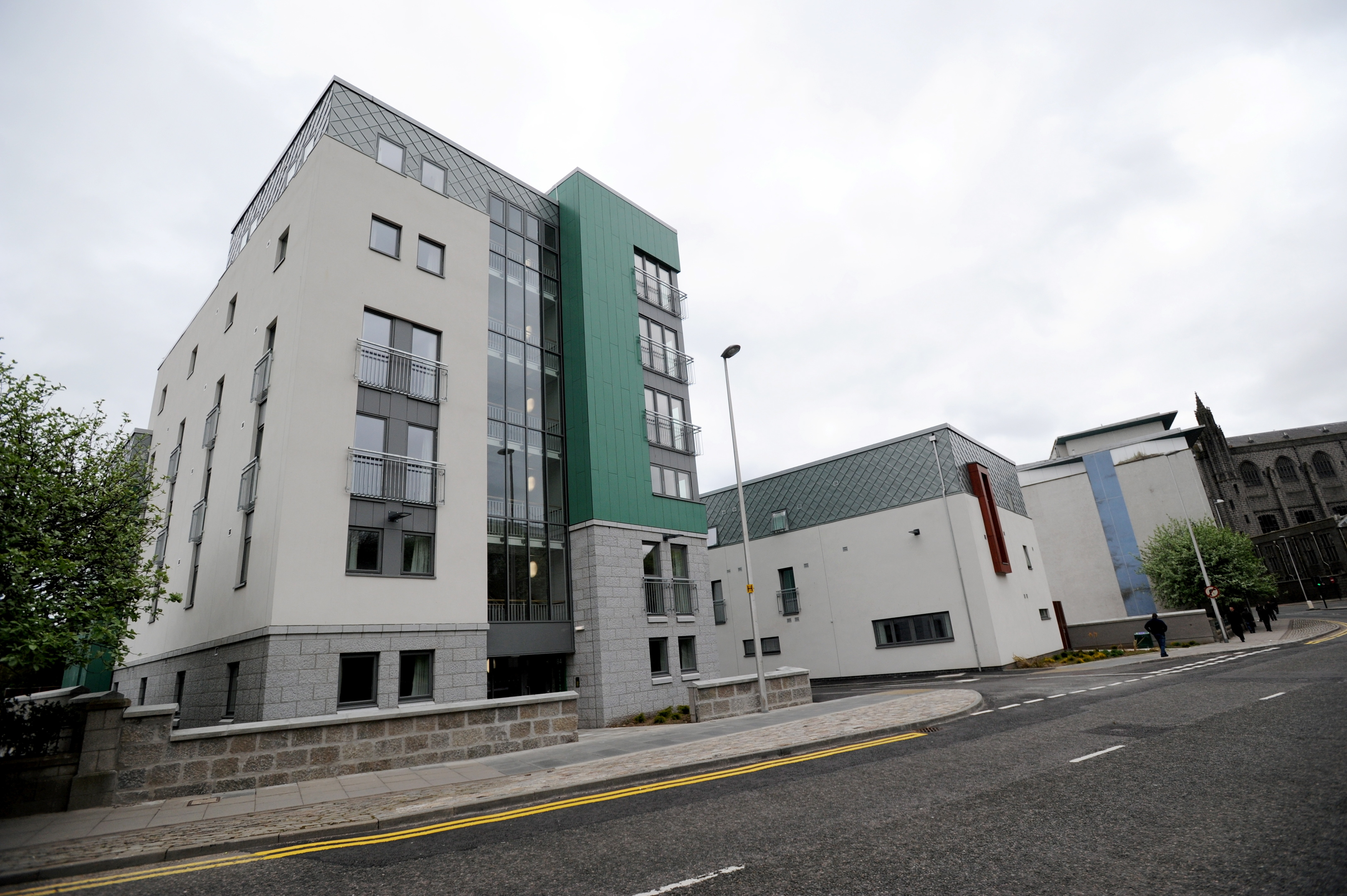 Cllr Neil Cooney would like to see more accommodation like Victoria House, a homeless and support facility on West North Street.