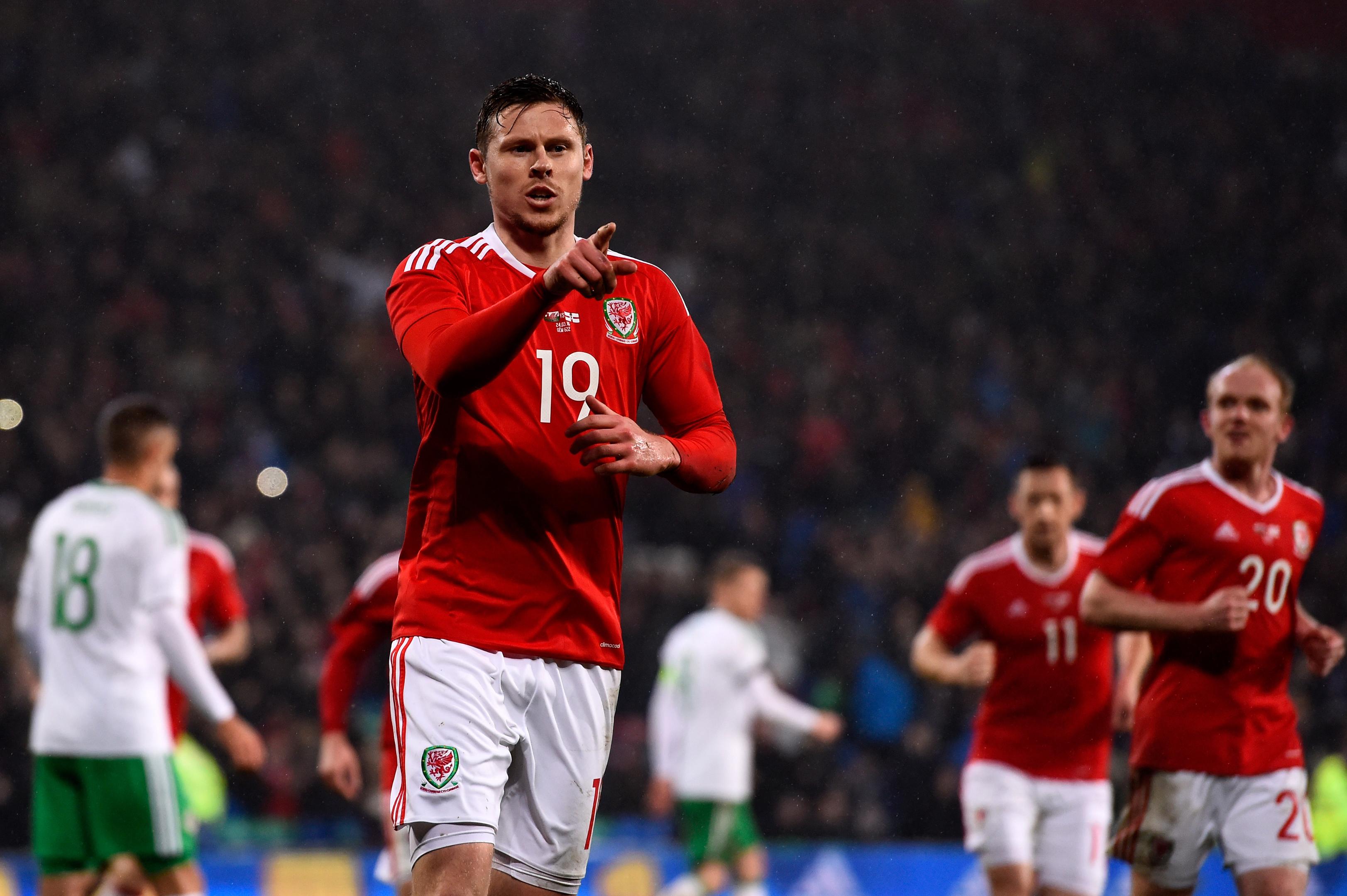 INTERNATIONAL:  Wales and Aberdeen striker Simon Church.