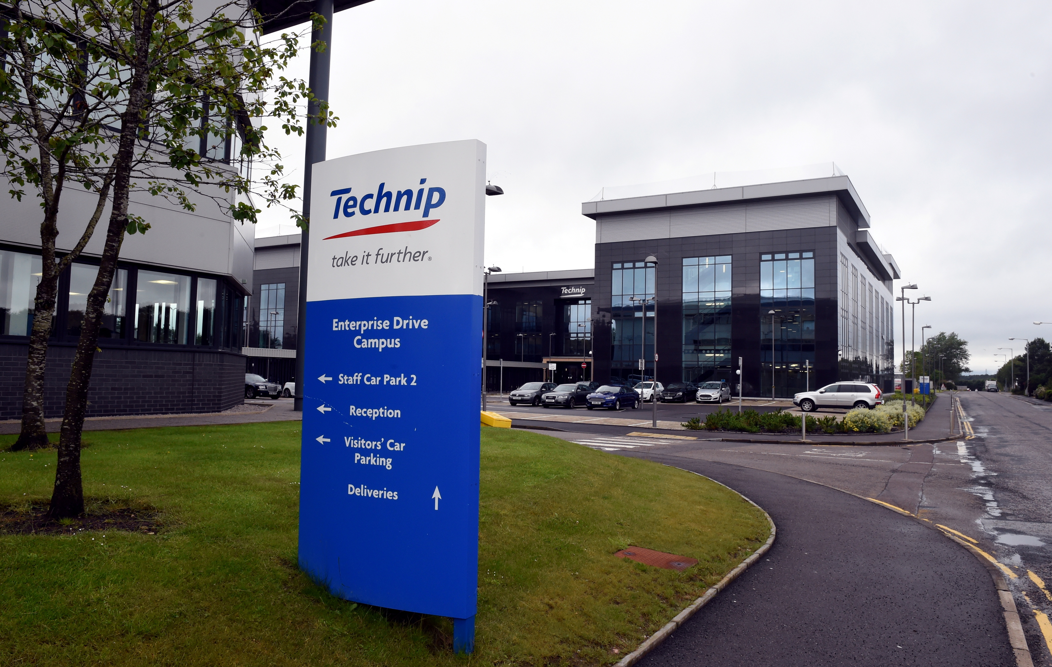 Technip's offices at Enterprise Drive, Westhill.
