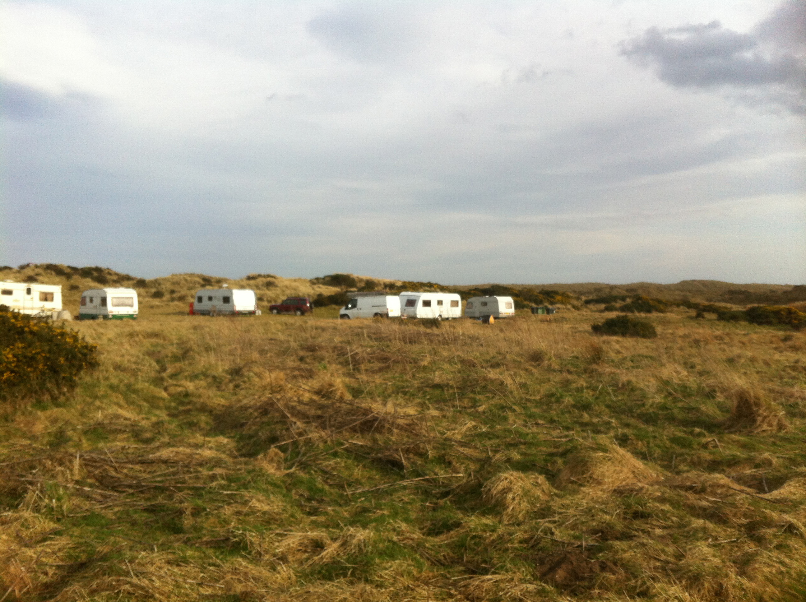 Aberdeenshire Council is trying to evict Travellers from two sites at Balmedie Country Park.