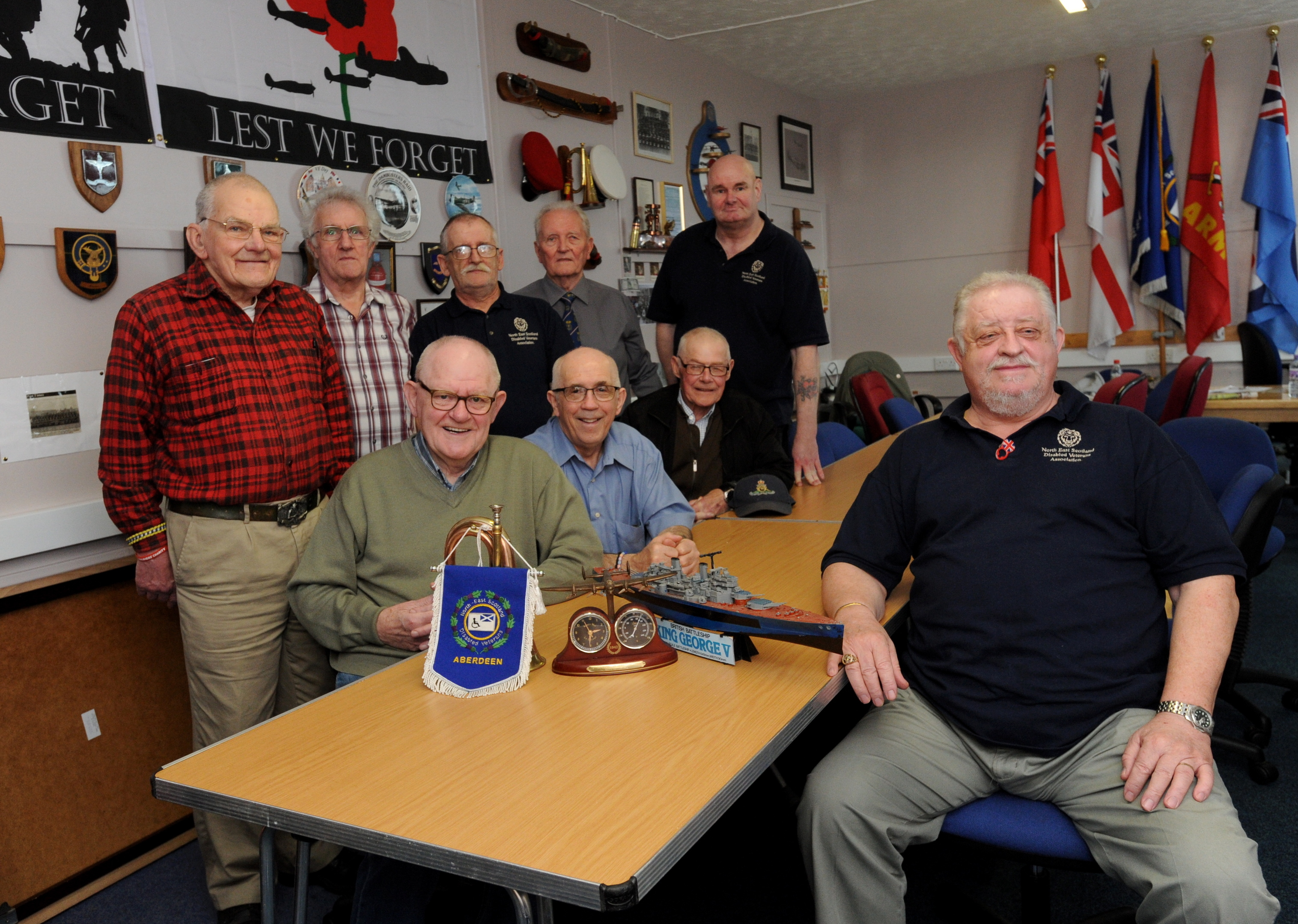 Aberdeen Veterans Association is looking for a venue for the organisation.