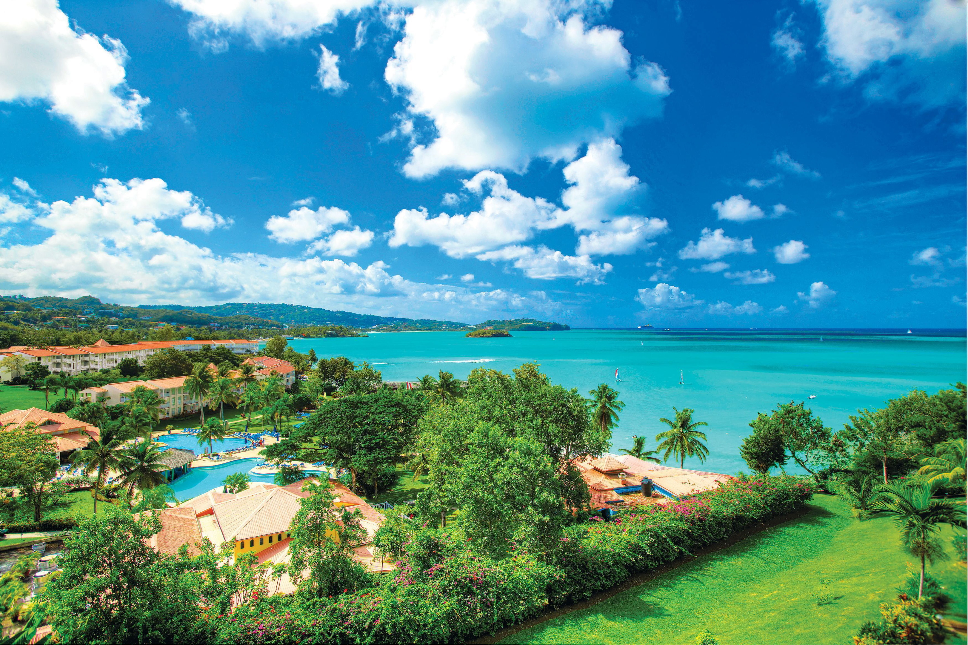 The new partnership will make it easier for travellers to reach far-flung destinations including St Lucia.