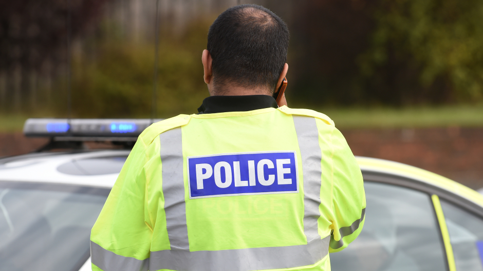 Police are investigating the incident which happened on Bedford Road.