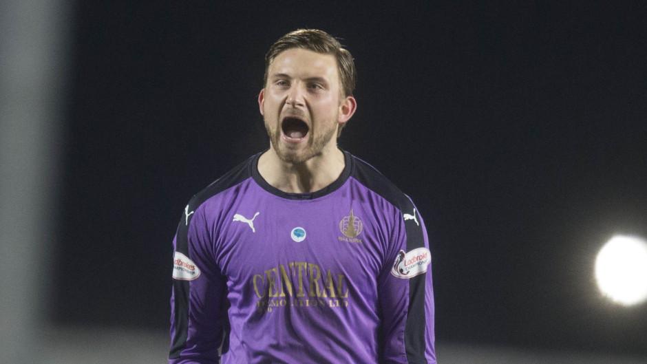 Danny Rogers impressed on loan at Falkirk.