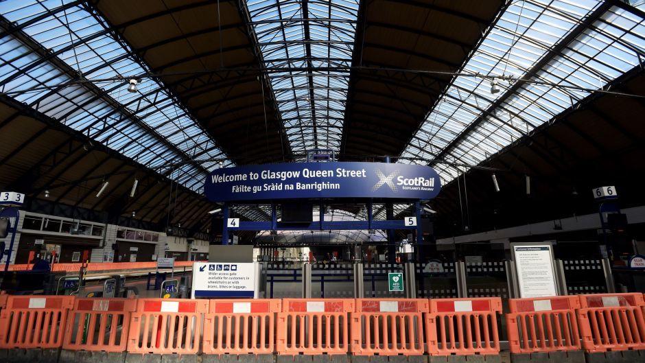 Queen Street Station is undergoing renovation works
