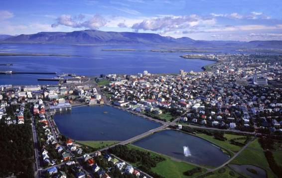 Flights via Iceland's capital Reykjavik could cut travel time.