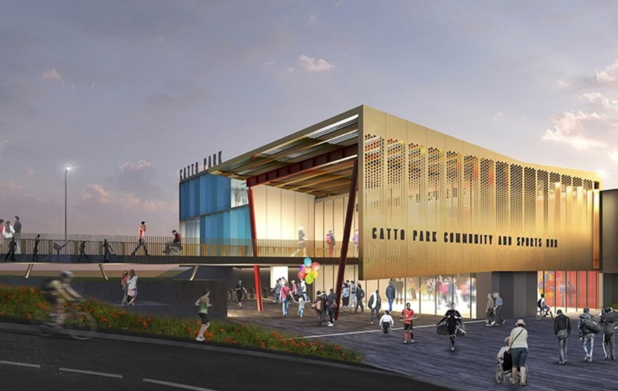 An impression of the proposed facility in Peterhead.