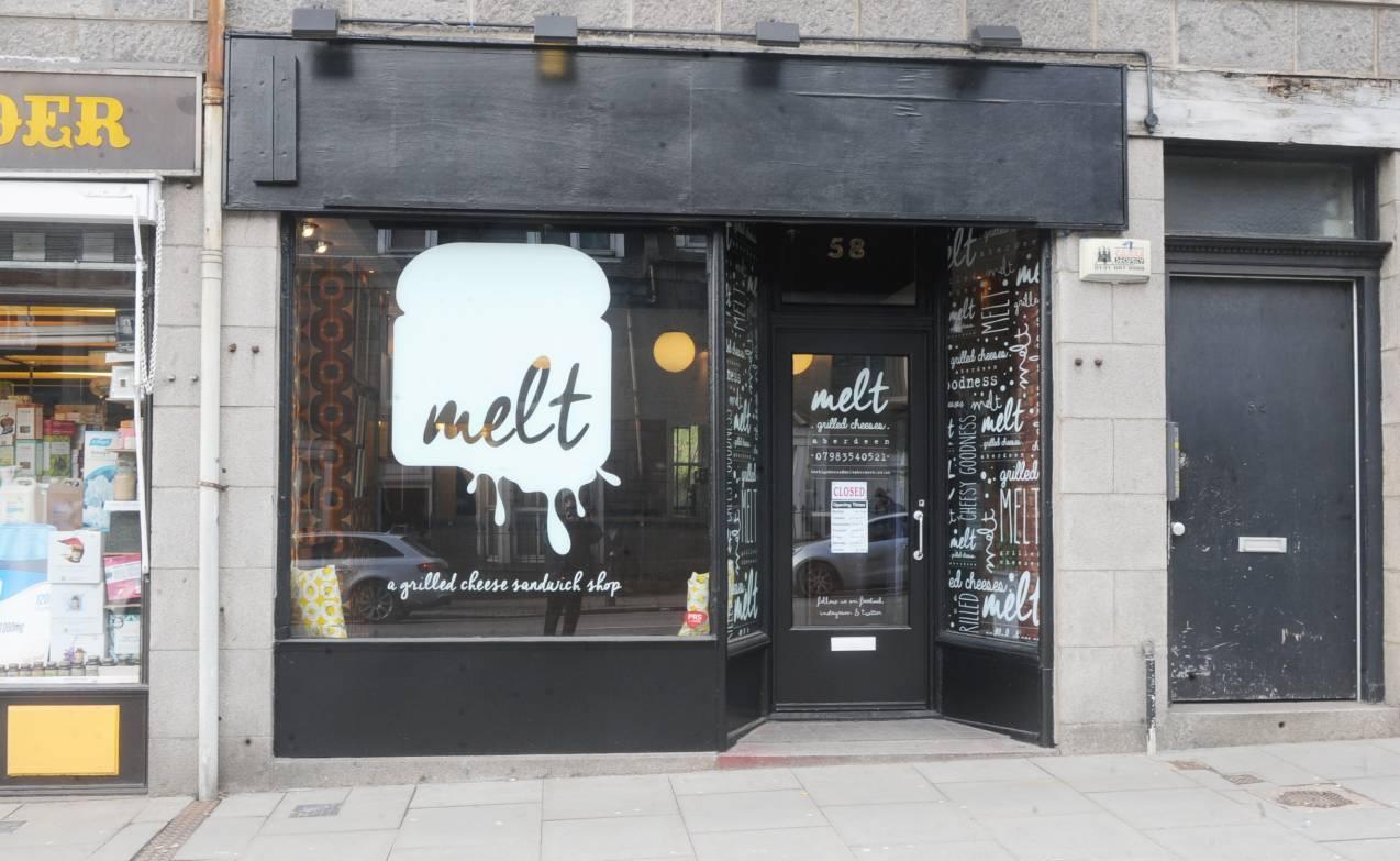 Melt on Aberdeen's Holburn Street.