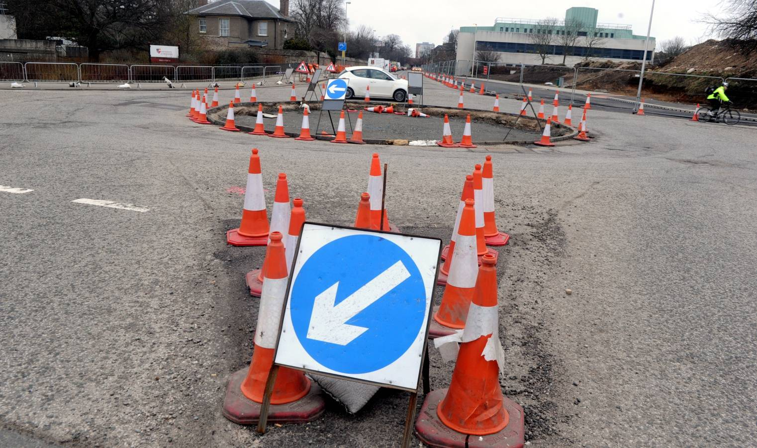 St Machar roundabout at Bedford Drive is to become a signalised junction.