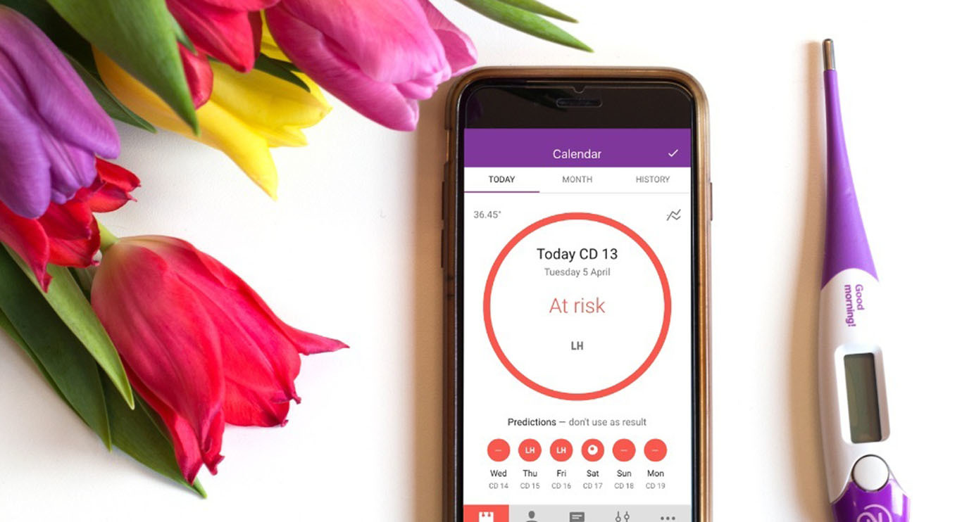 The Natural Cycles fertility app