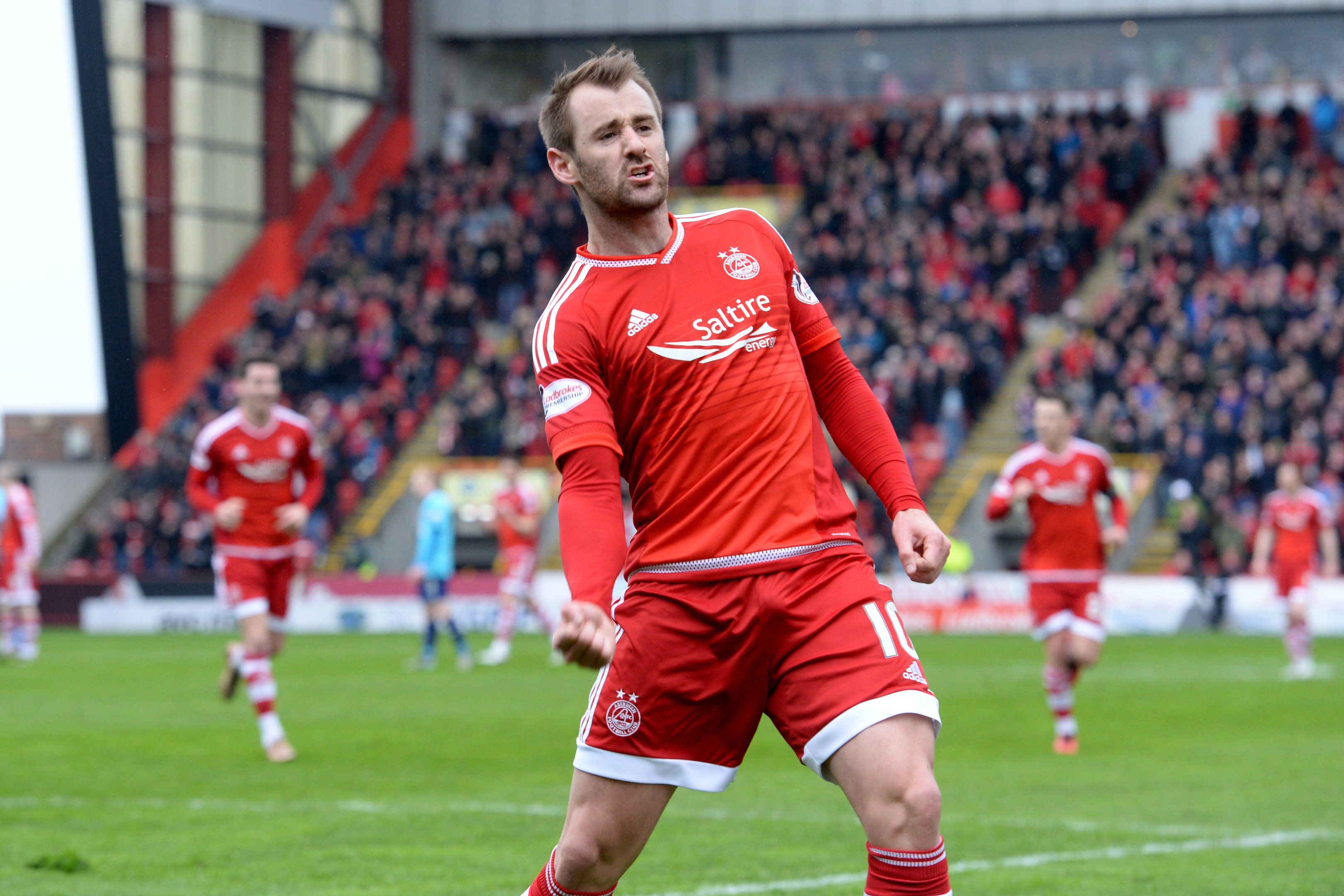 Aberdeen's Niall McGinn scored in the win for Northern Ireland.
